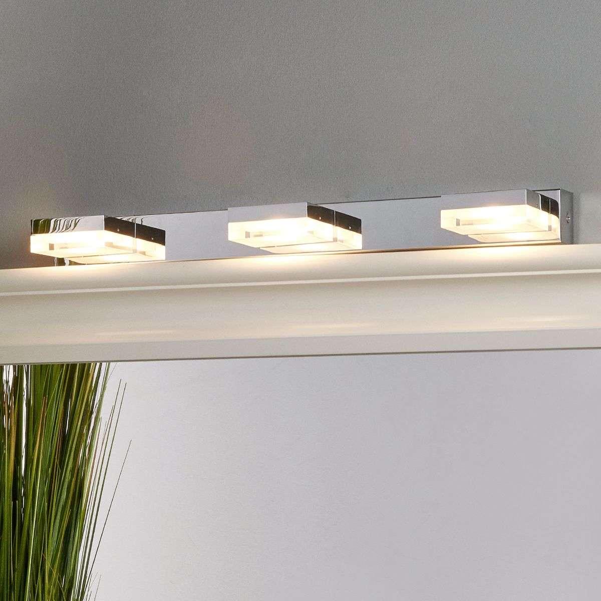 Elona led bathroom wall light lights elona led bathroom wall light 9644036 32 mozeypictures Image collections