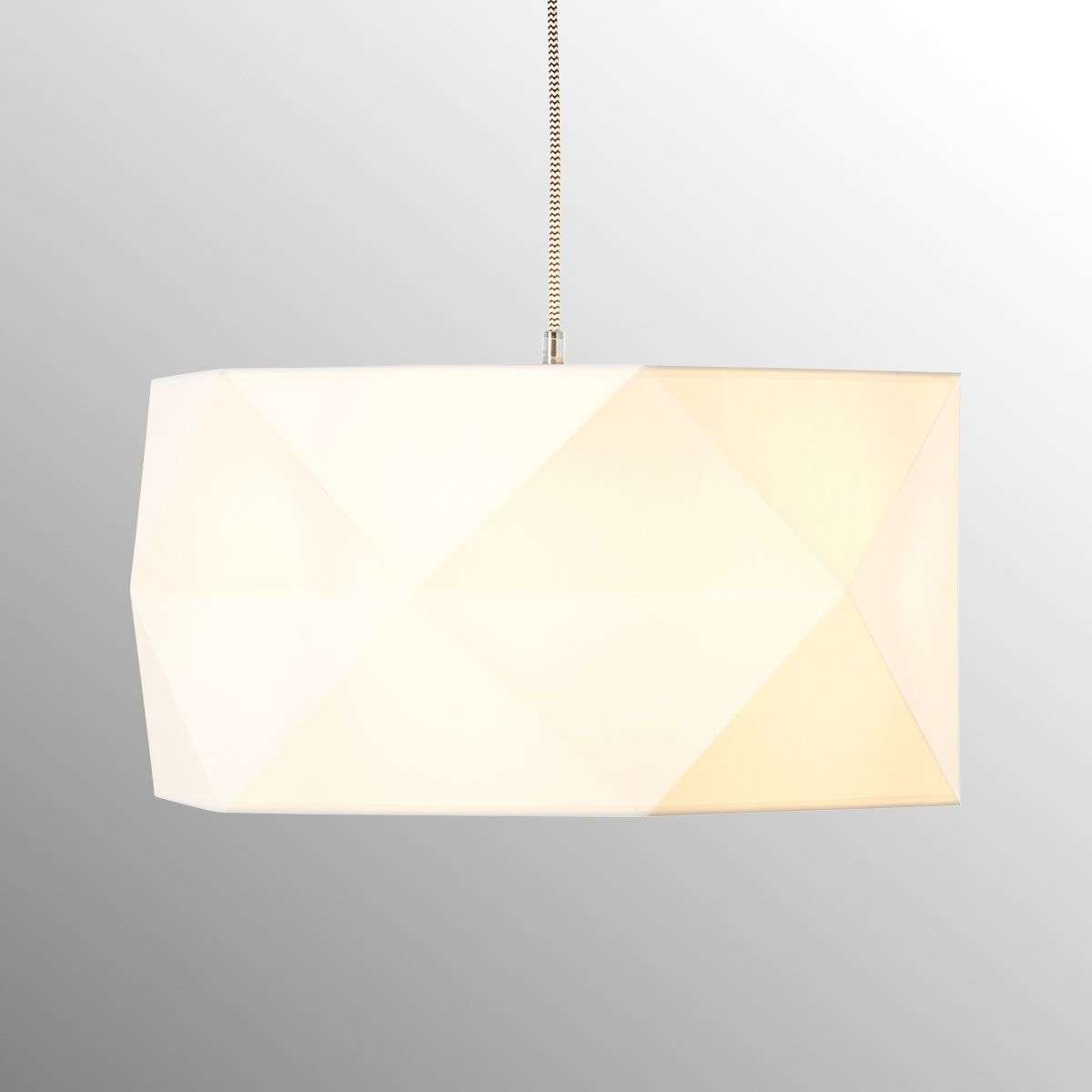 Fabric pendant light polygon with wooden details lights fabric pendant light polygon with wooden details 1509203 31 mozeypictures Images