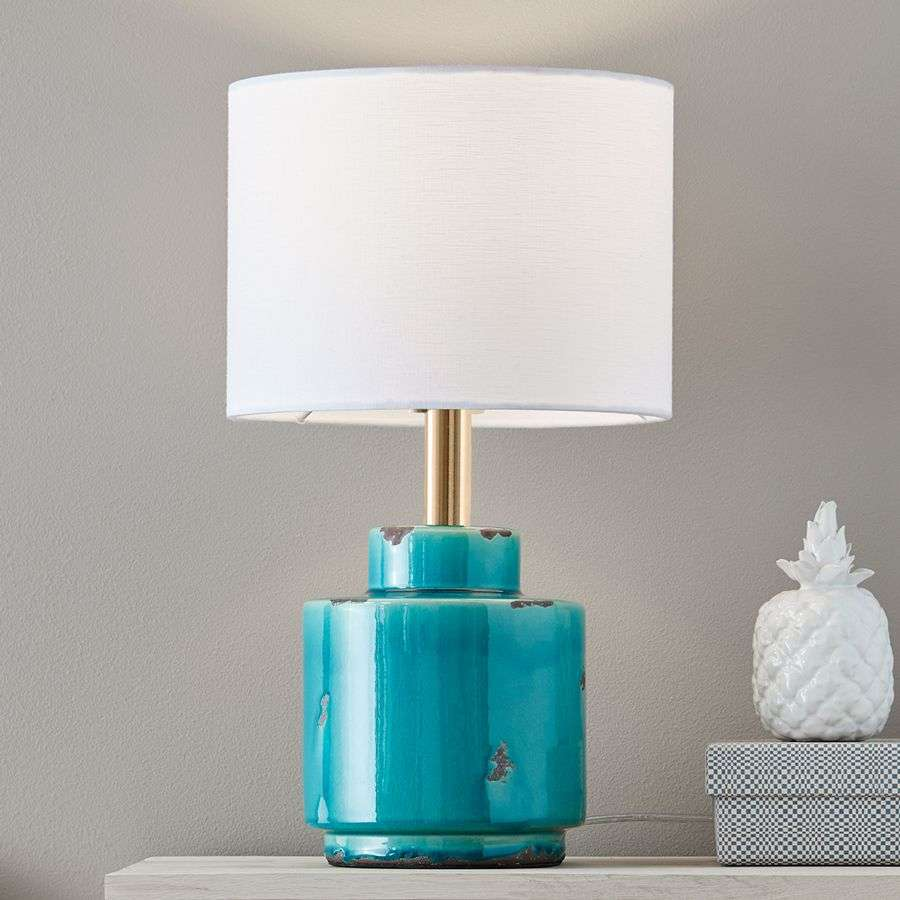 Fabric table lamp cous with ceramic base lights fabric table lamp cous with ceramic base 6505636 31 aloadofball Choice Image