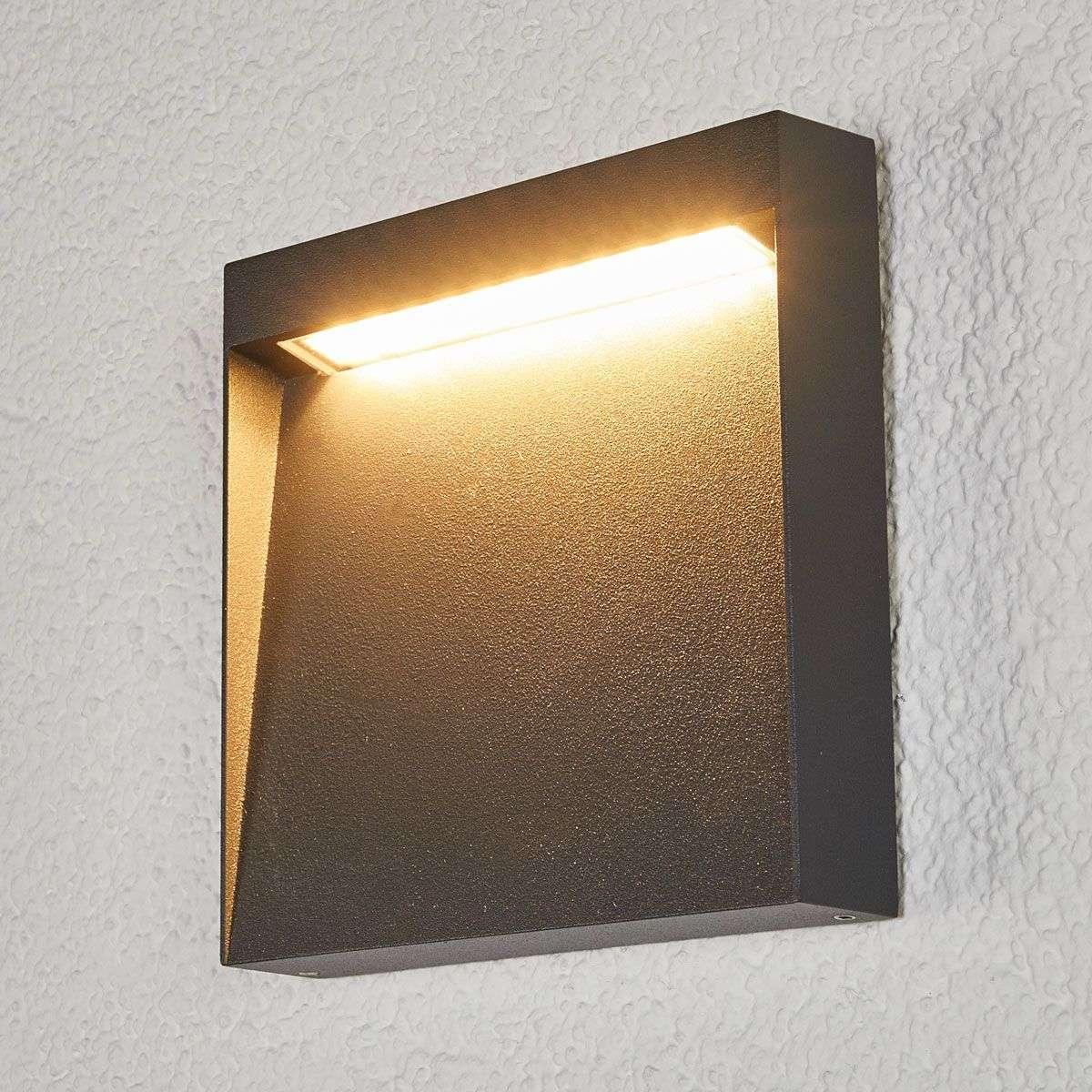 Flat led outdoor wall light bene lights flat led outdoor wall light bene 9616114 32 aloadofball Images