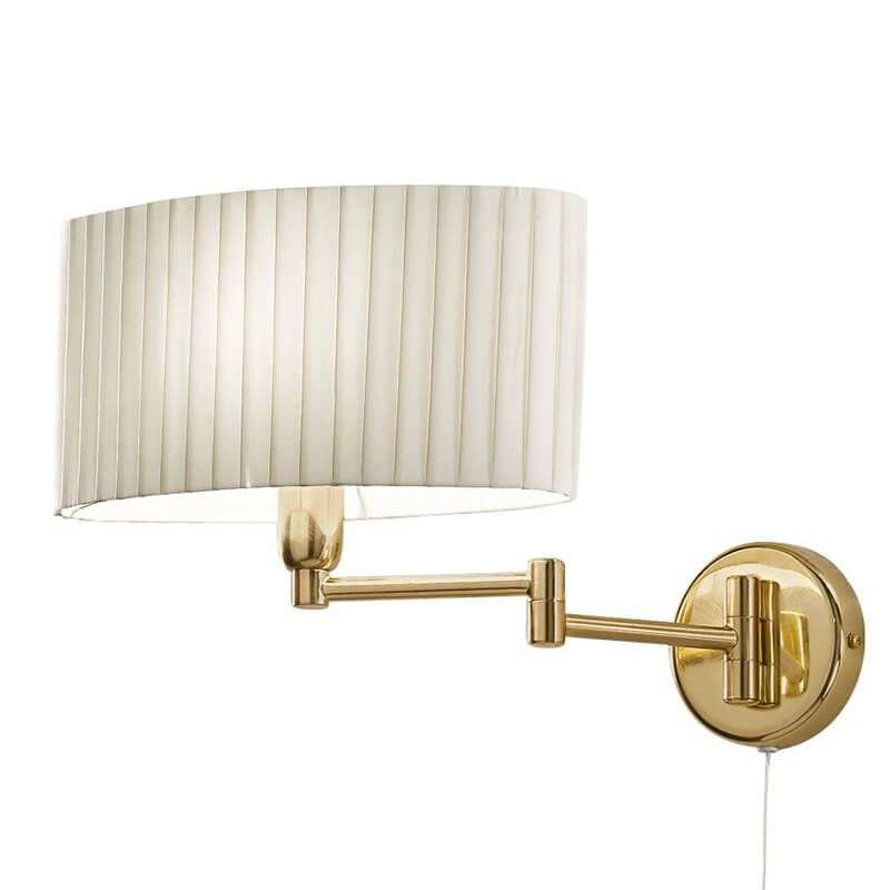 Flexible wall light hilton sand with brass arm lights flexible wall light hilton sand with brass arm 5562022 32 mozeypictures Image collections