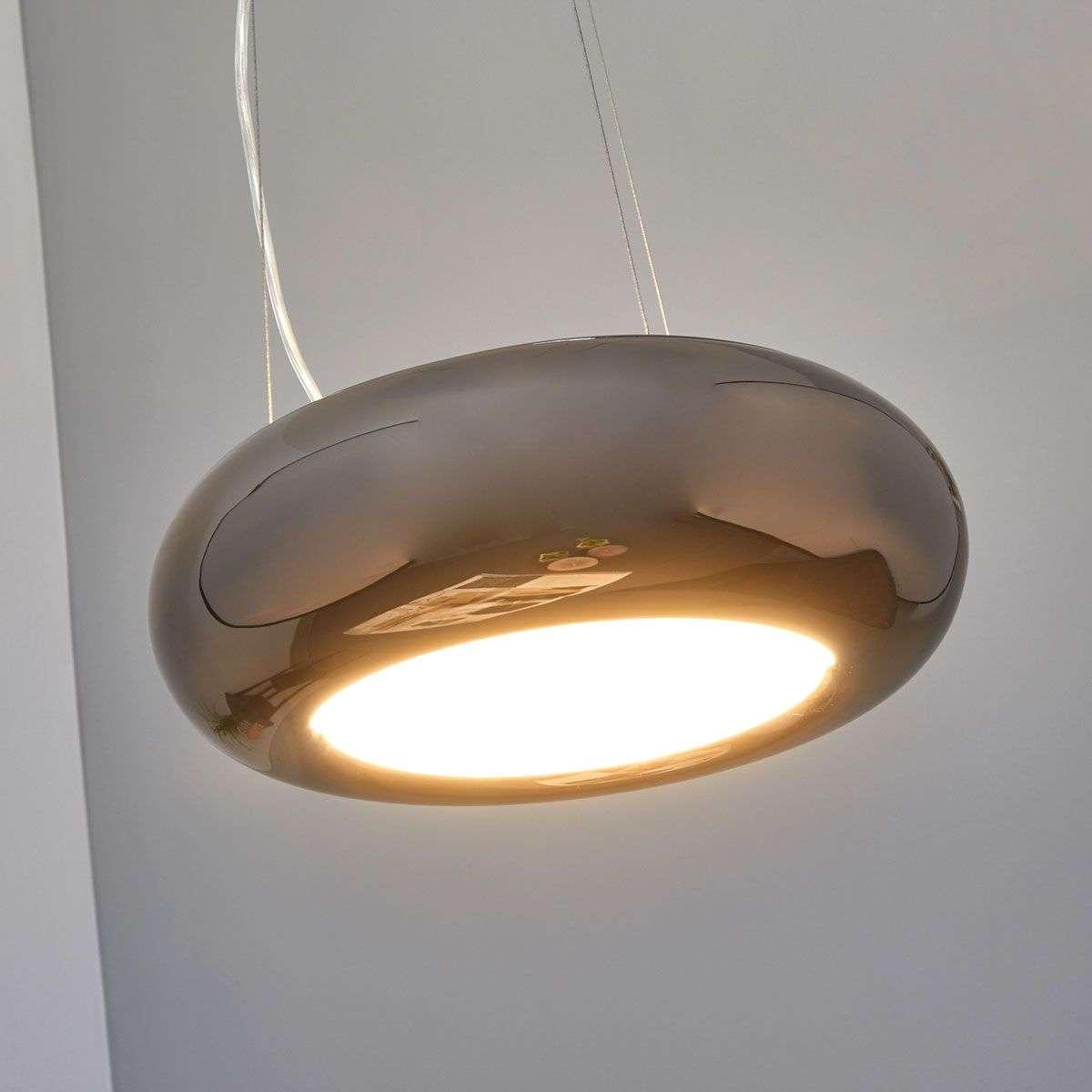 Glossy metal pendant light saina lights glossy metal pendant light saina 9639019 32 aloadofball Image collections