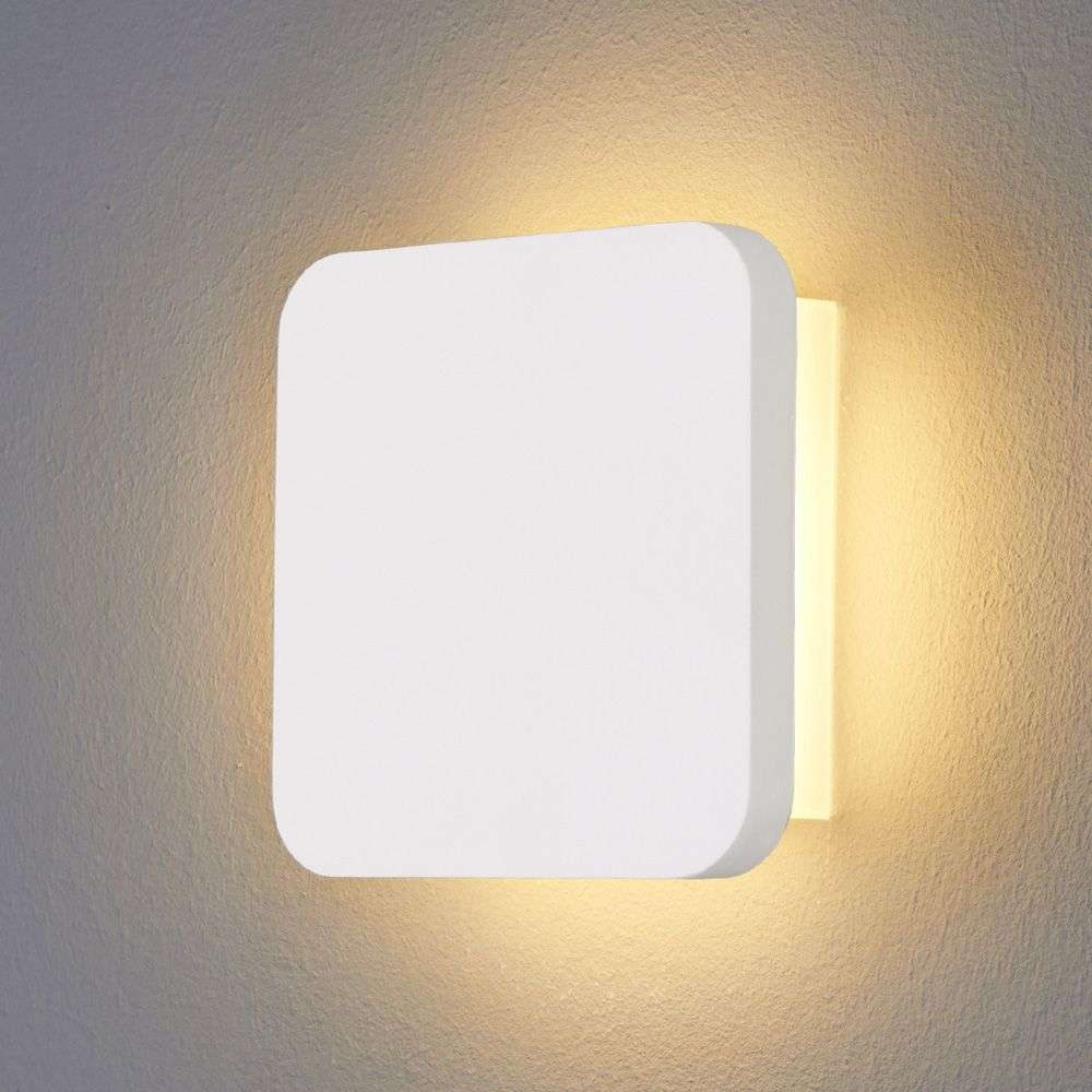 Gypsum led wall light modern plaster lights aloadofball Images