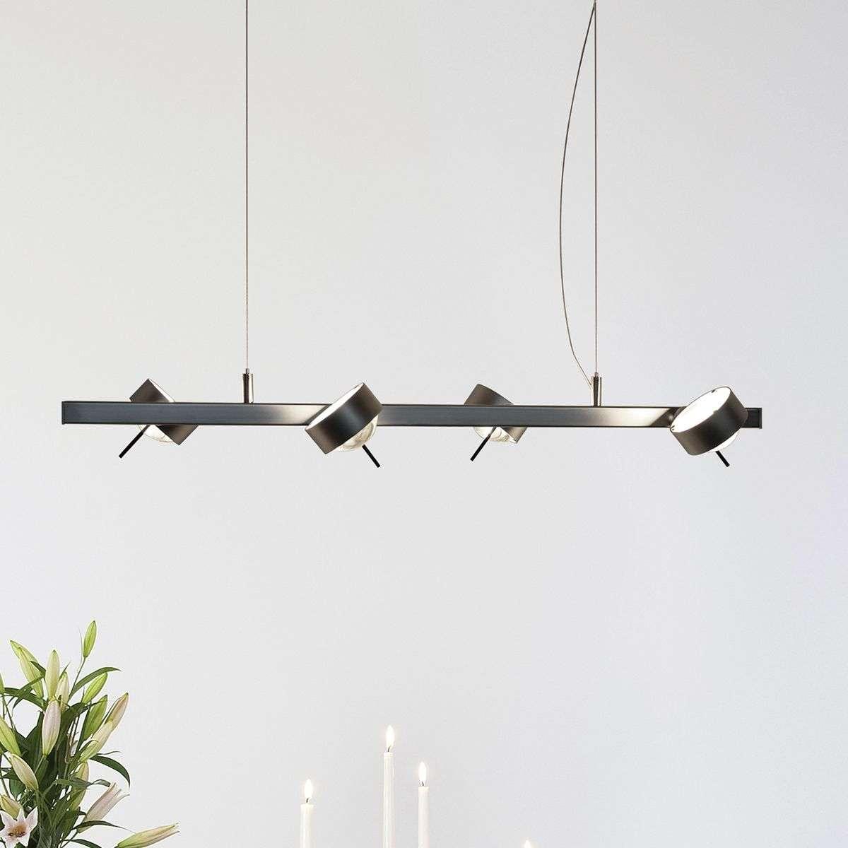 modern hanging lighting. Hanging Light PUK QUARTET, Matt Chrome-9020093-32 Modern Lighting I