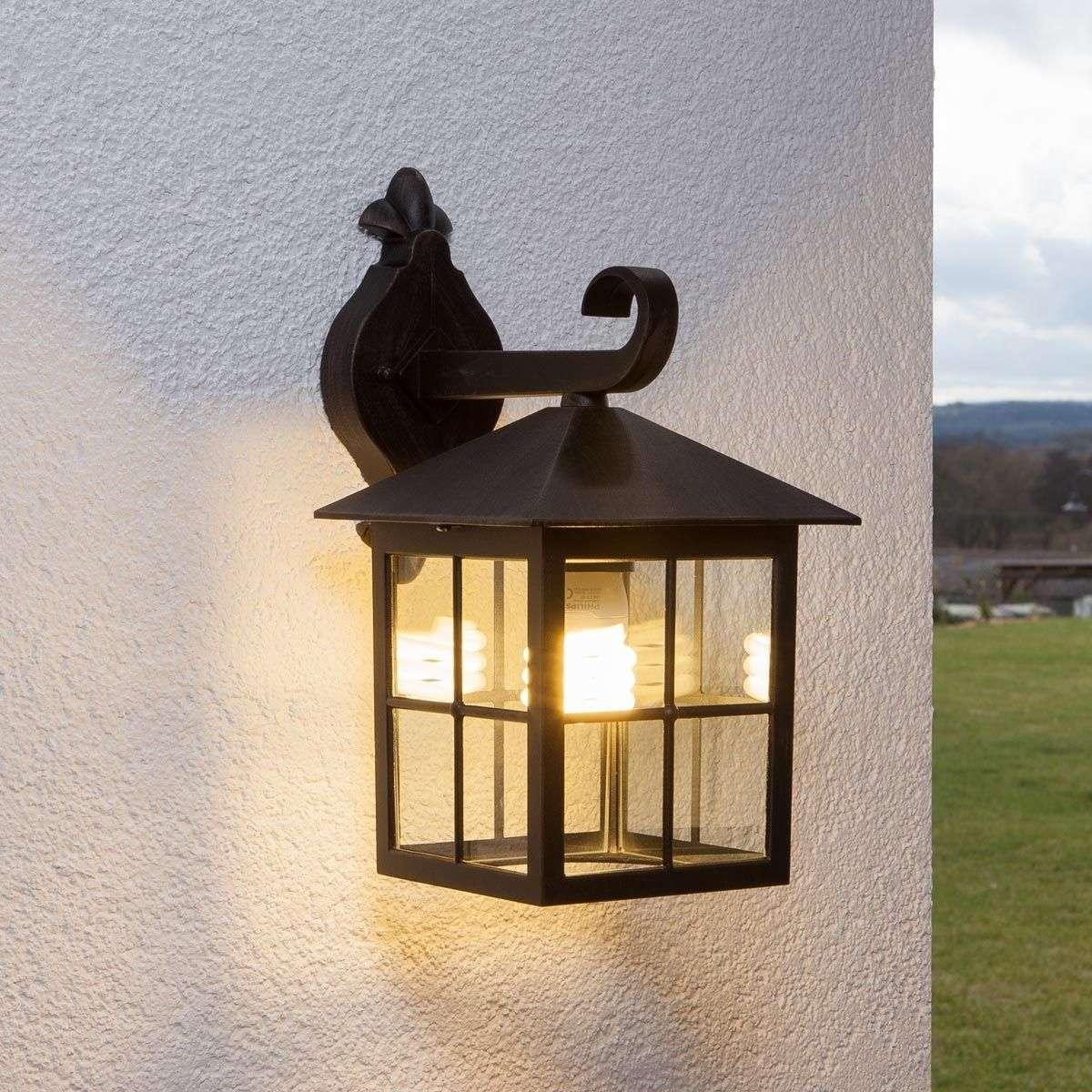 Ida Outside Wall Light Single Bulb-9611017-31