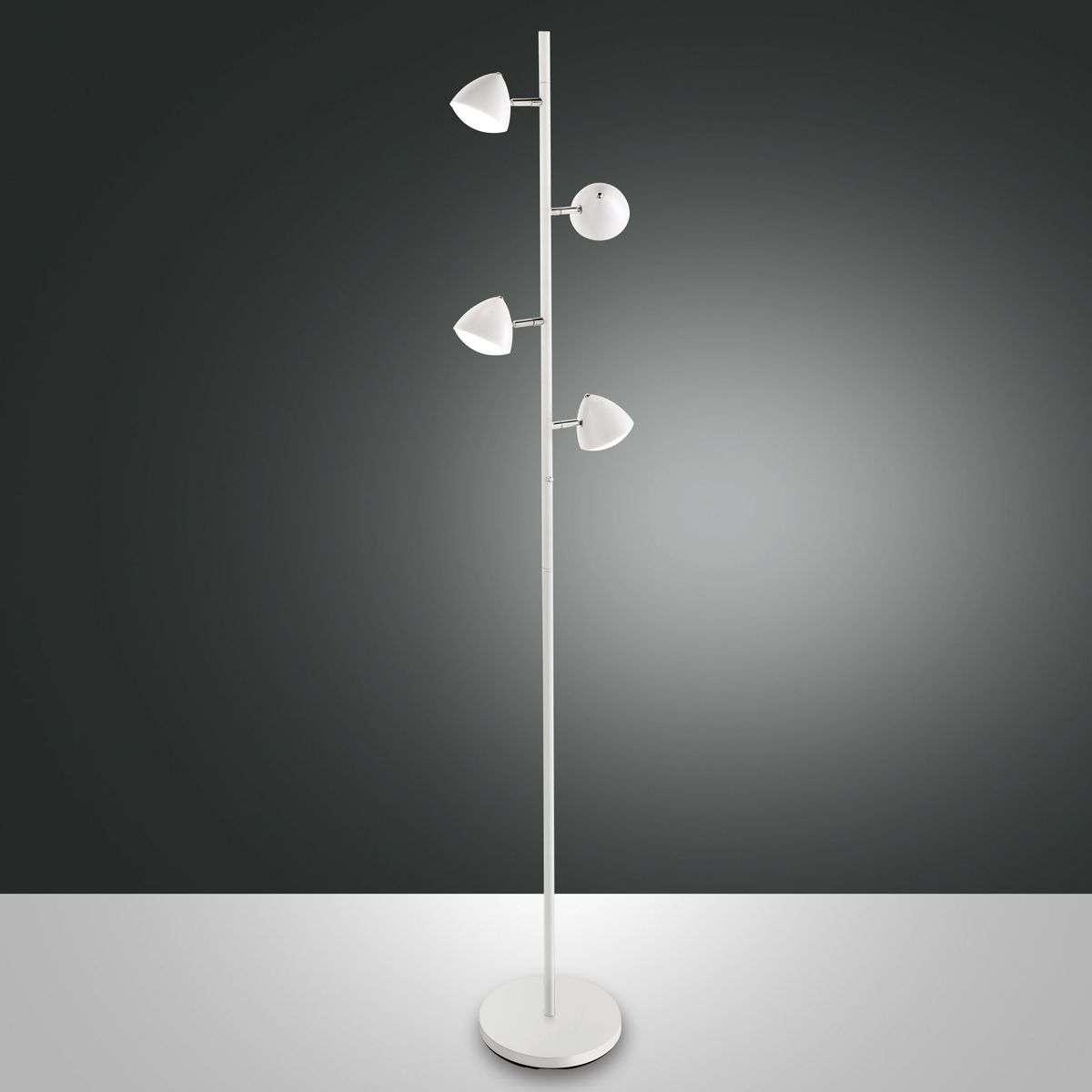 In retro design, Bike LED floor lamp, touch dimmer | Lights.ie
