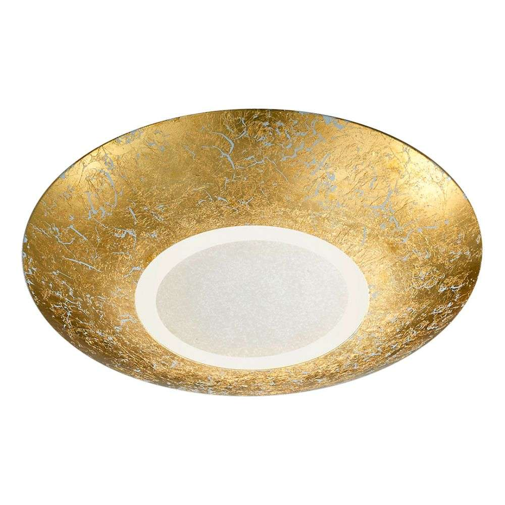 Led ceiling lamp chiros round gold colour lights led ceiling lamp chiros round gold colour 9005259 31 aloadofball Gallery