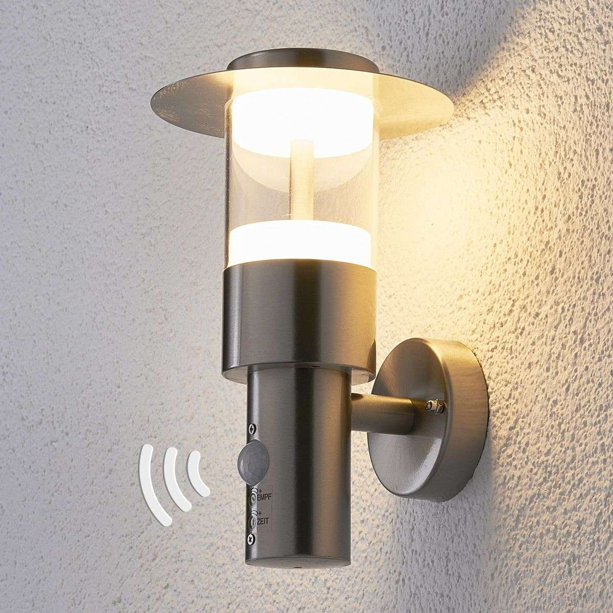 High Quality LED Presence Detector Outdoor Wall Light Anouk 9988030 31