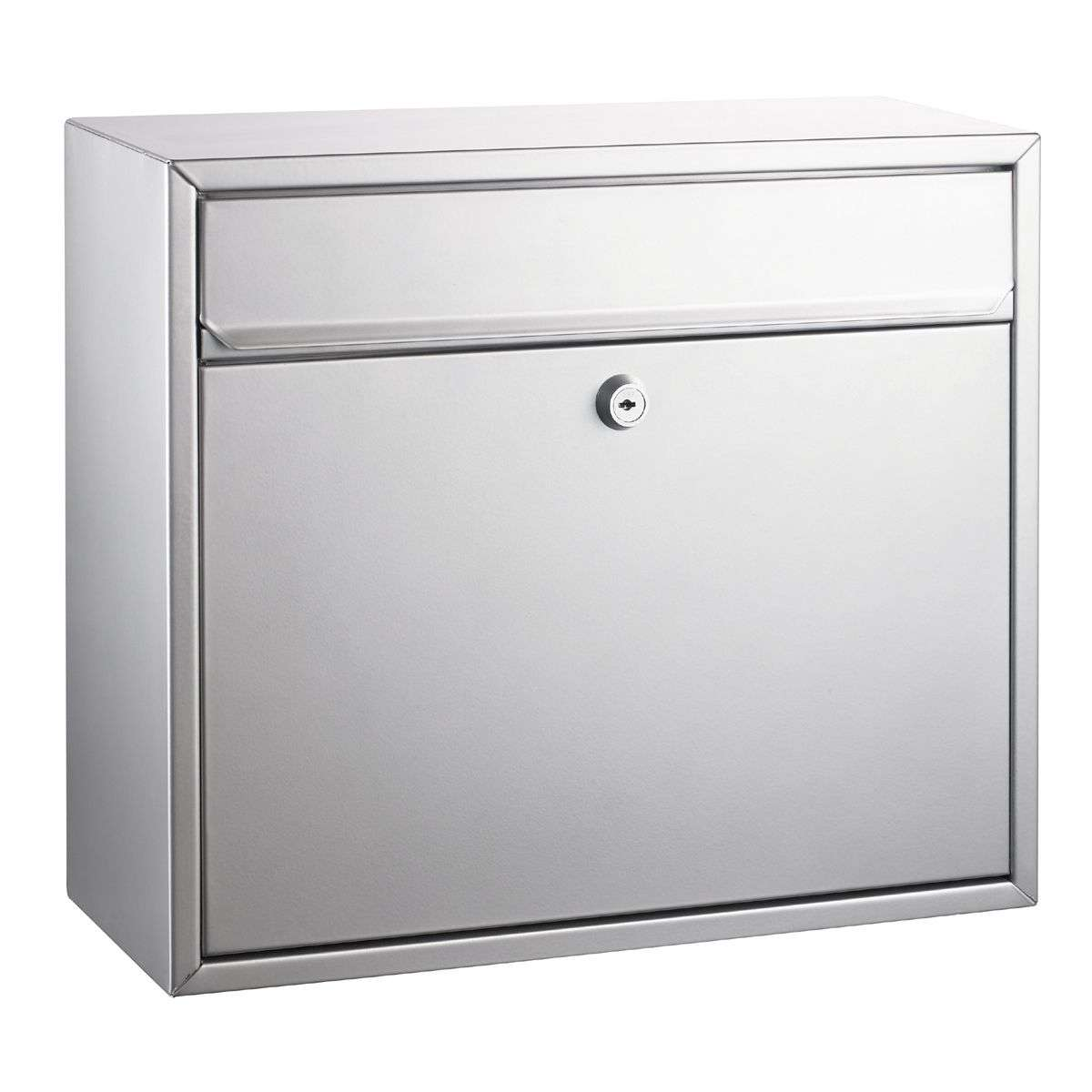 Letterbox mount silver painted-1003093-31