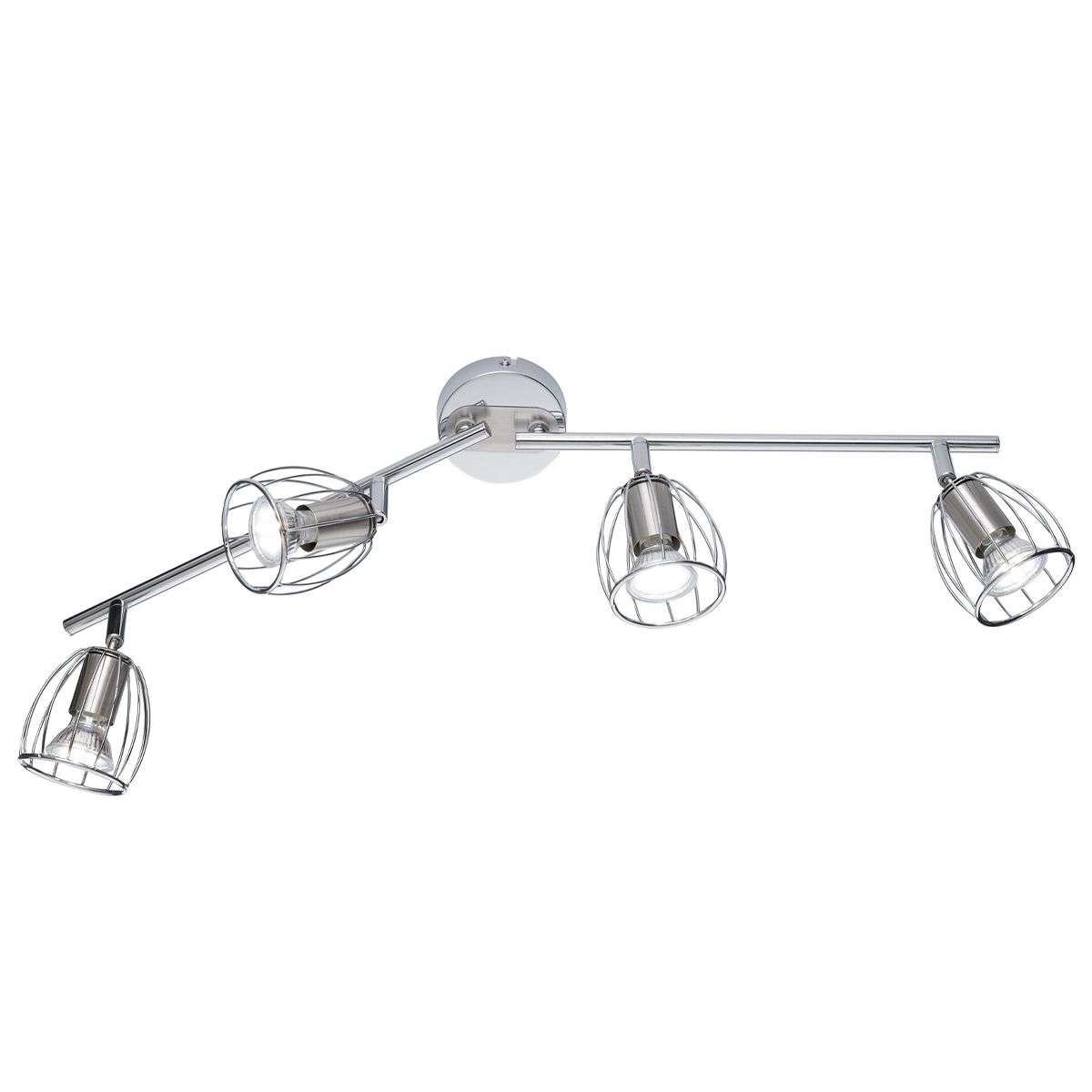spotlights ceiling lighting. Linear Ceiling Light Evian With Four Spotlights-8029166-31 Spotlights Lighting