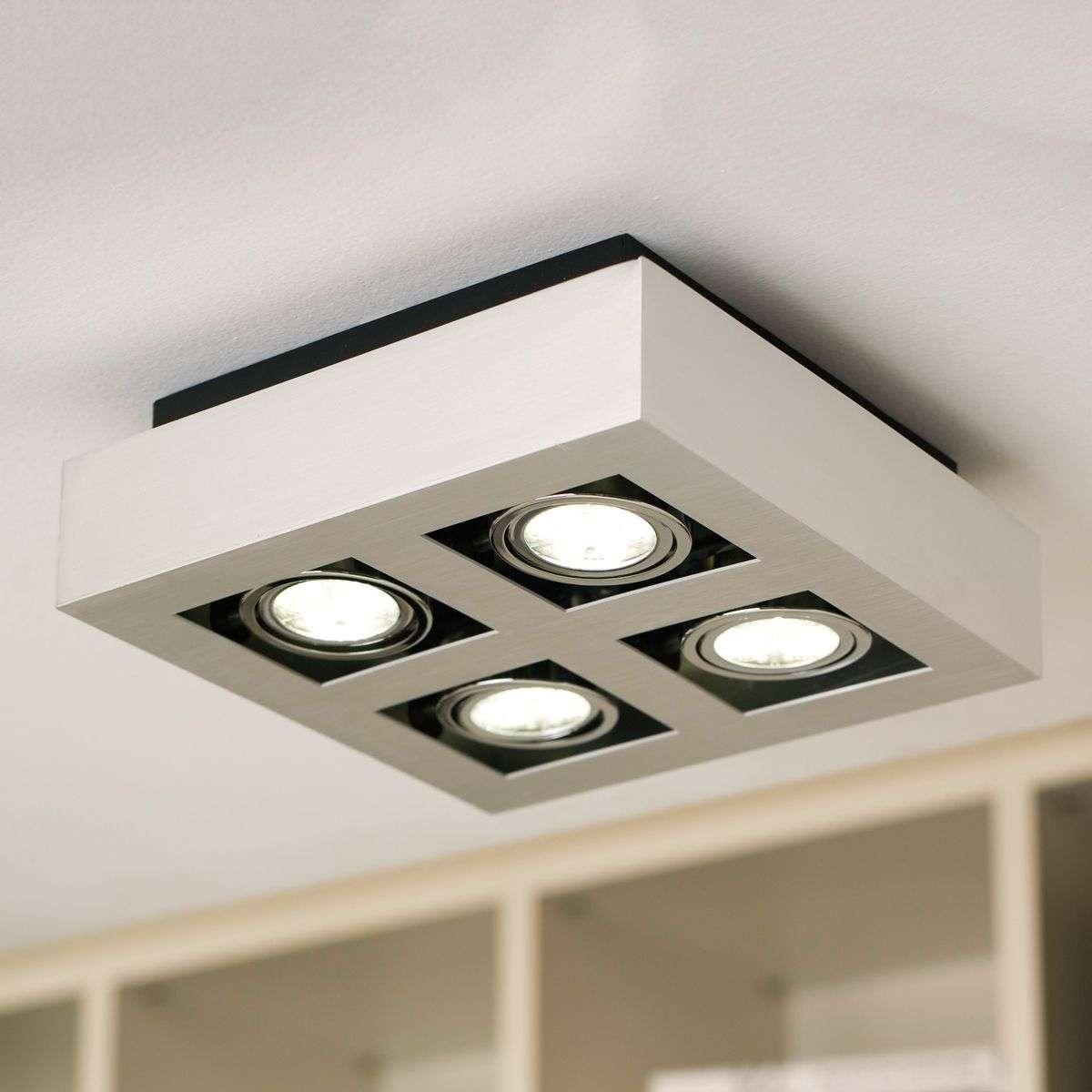 Loke four lamp led ceiling lamp