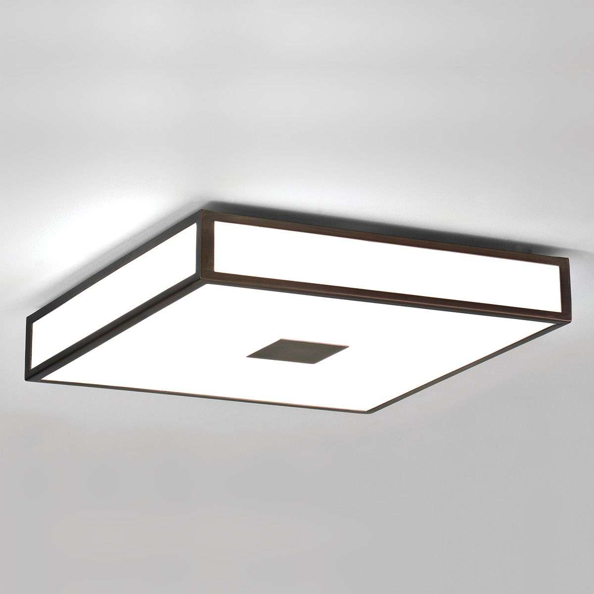 Mashiko Ceiling Light 40 cm Bronze IP44-1020373-32