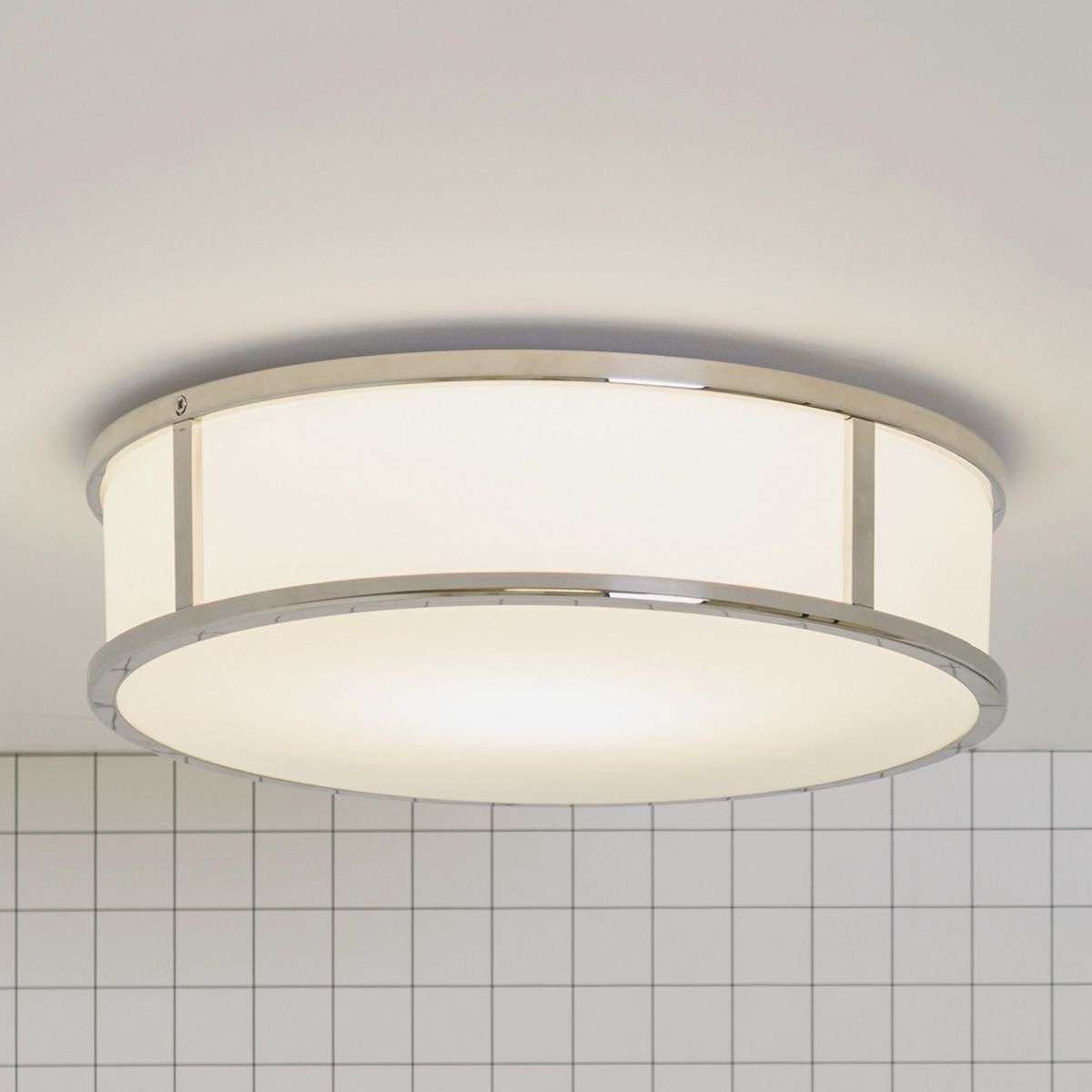Mashiko Round 300 Bathroom Ceiling Light