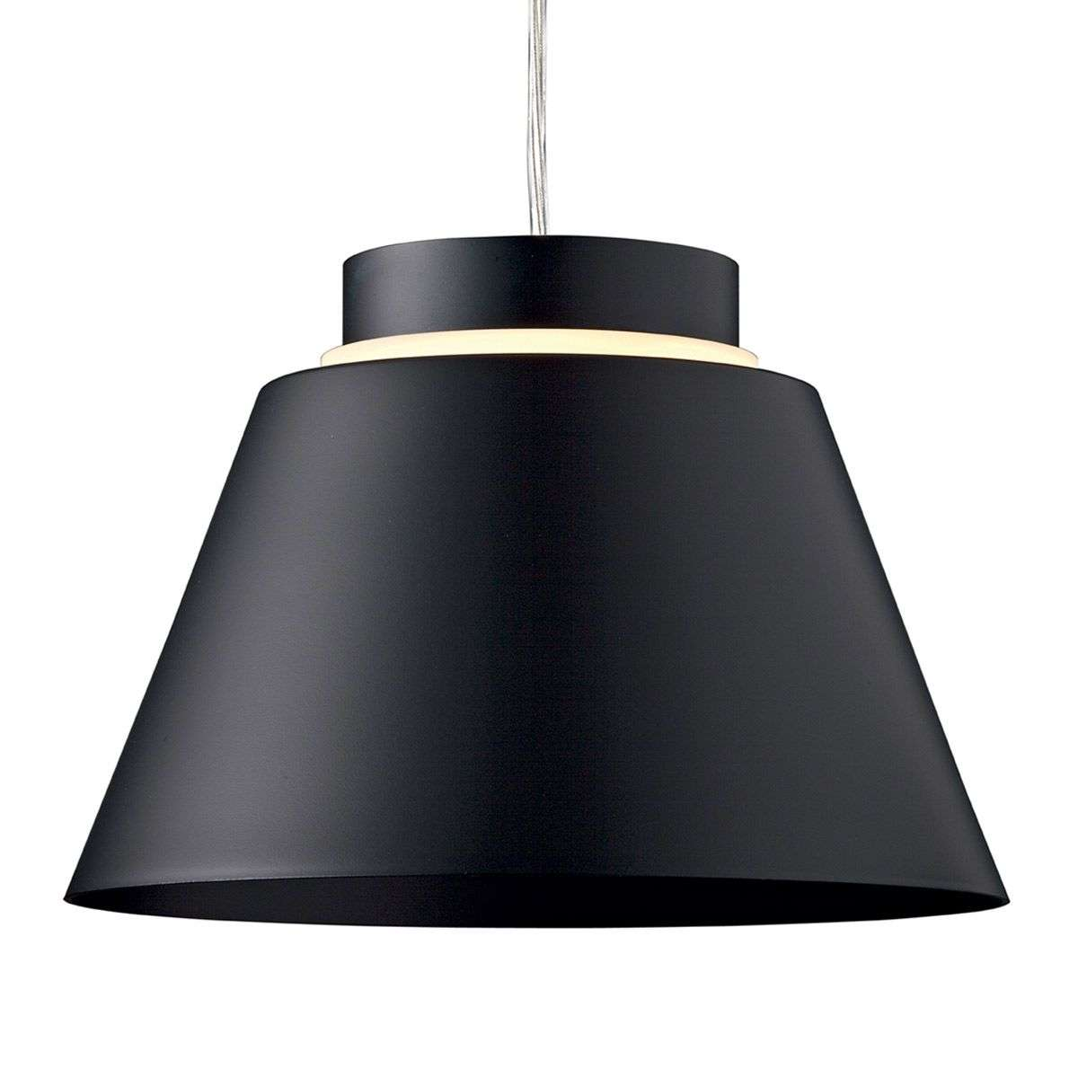 Matt black LED pendant light Lia-3039204-31  sc 1 st  Lights.ie & Matt black LED pendant light Lia | Lights.ie