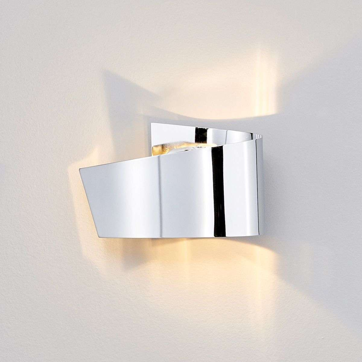 Megan led wall light chrome attractive lights megan led wall light chrome attractive aloadofball Images
