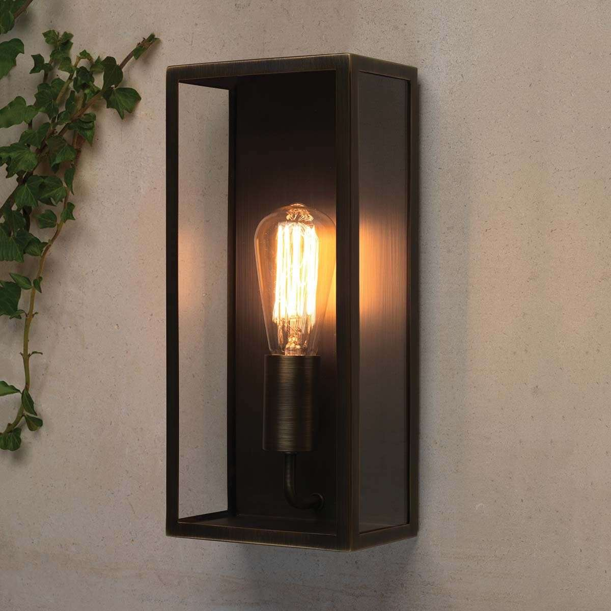 Messina Outside Wall Light Square-1020334-32