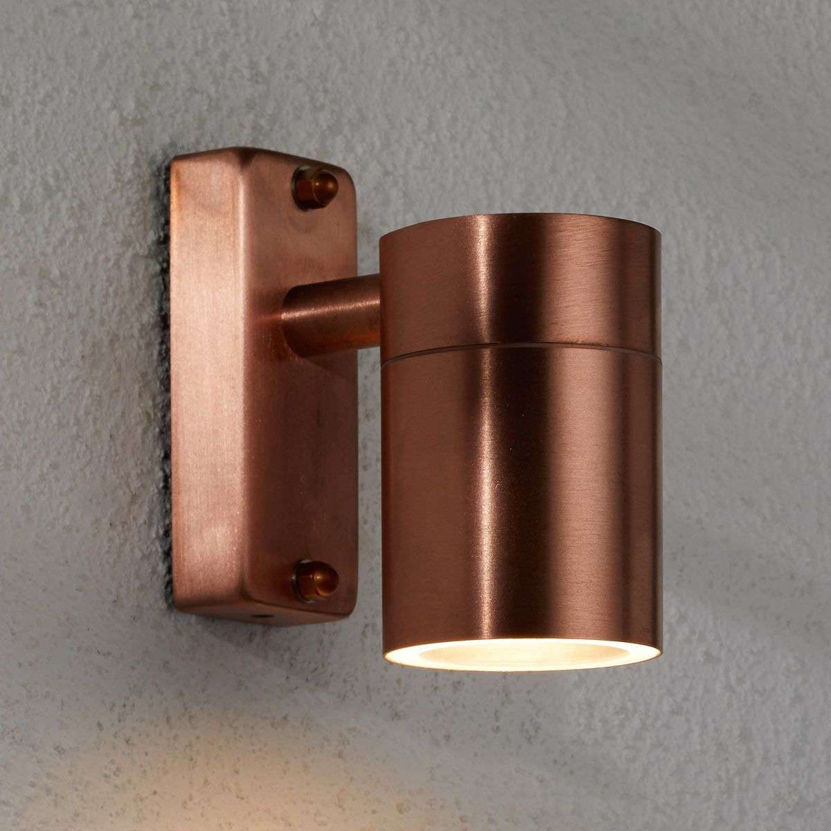 tin lighting. Unique Lighting Modern Copper Outdoor Wall Lamp Tin700511334 Throughout Tin Lighting