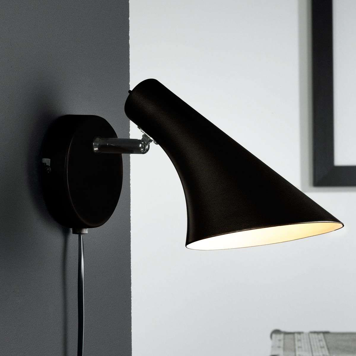 Modern flexible wall lamp liam black lights modern flexible wall lamp liam black 7005624 32 mozeypictures Image collections