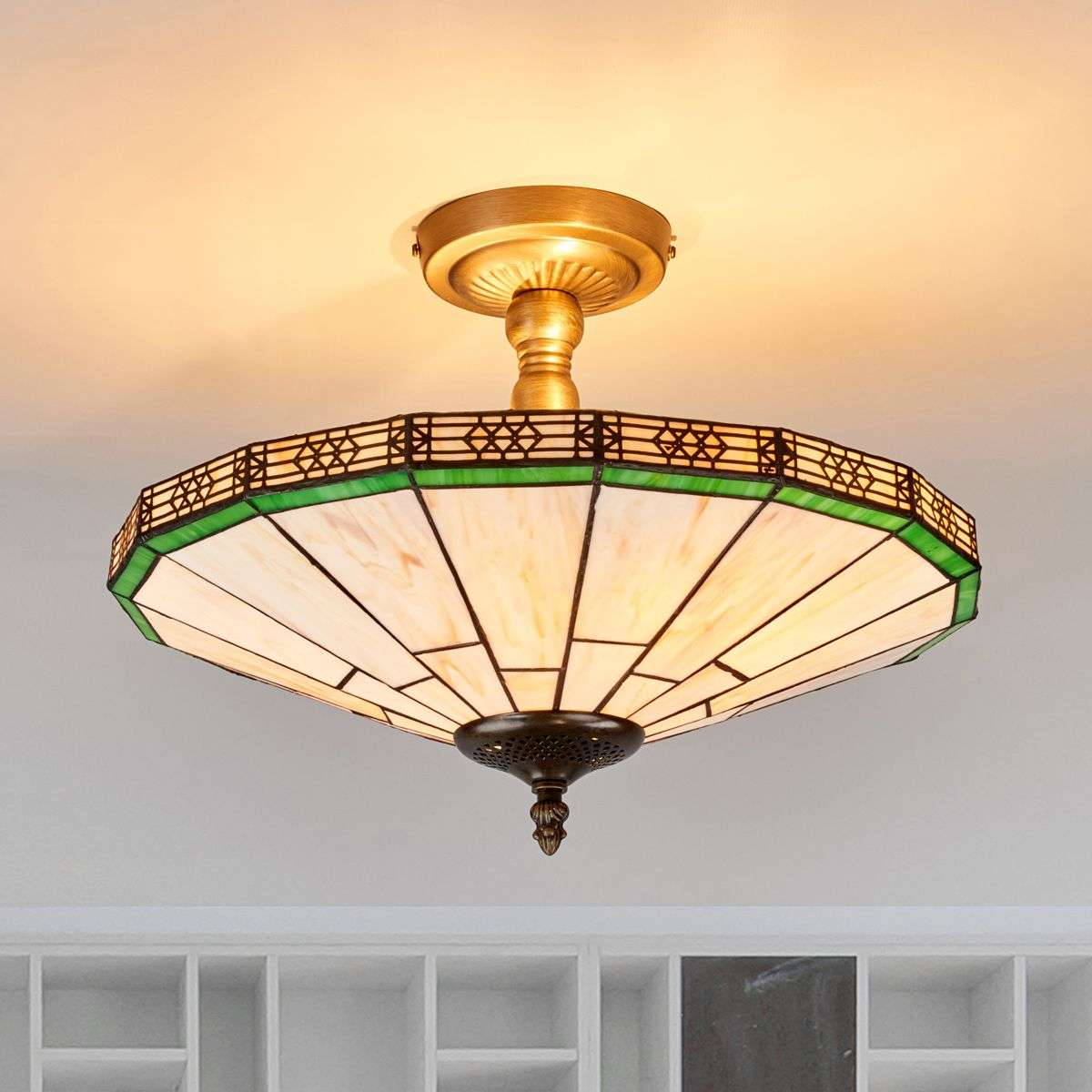 New York Classic Tiffany Style Ceiling Light Lights Ie