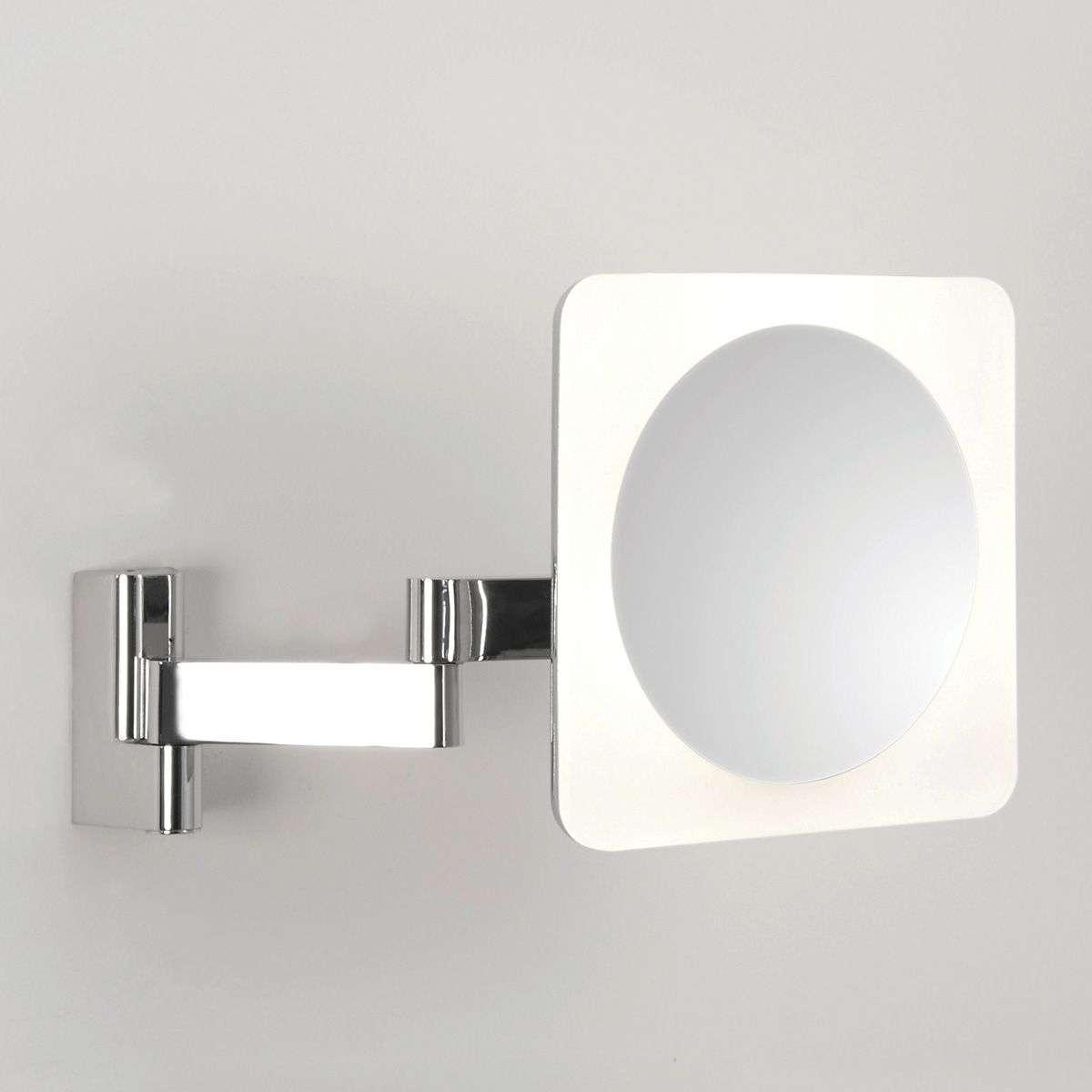 Niimi Square LED Mirror 5x Magnification-1020377-33