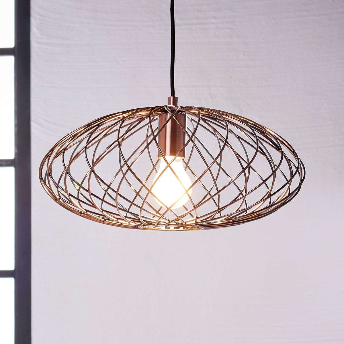 Oval pendant lamp jilla made from metal lights oval pendant lamp jilla made from metal 9620883 32 aloadofball Images