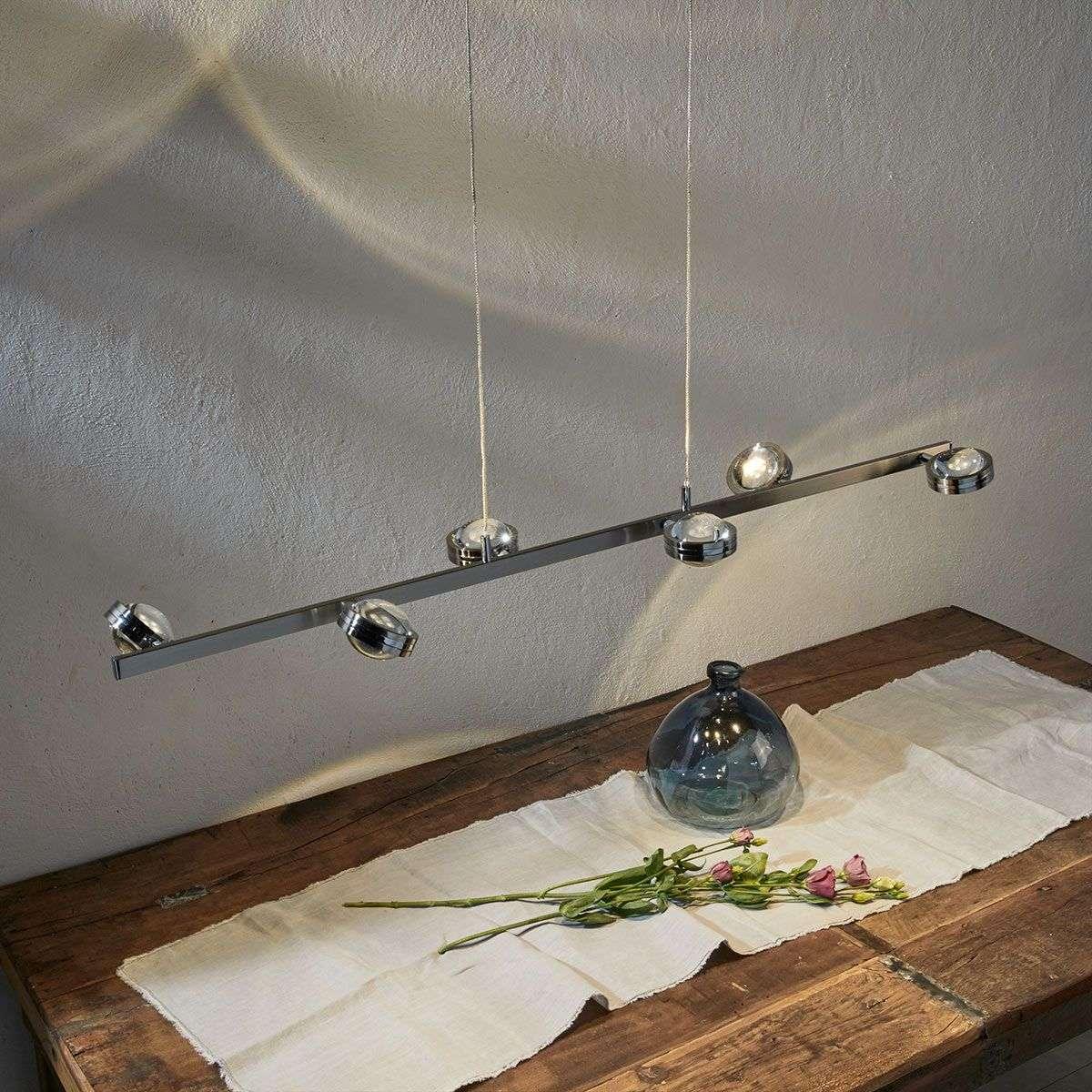 linear pendant lighting. Pablos Height-adjustable LED Linear Pendant Light-9994127-33 Lighting