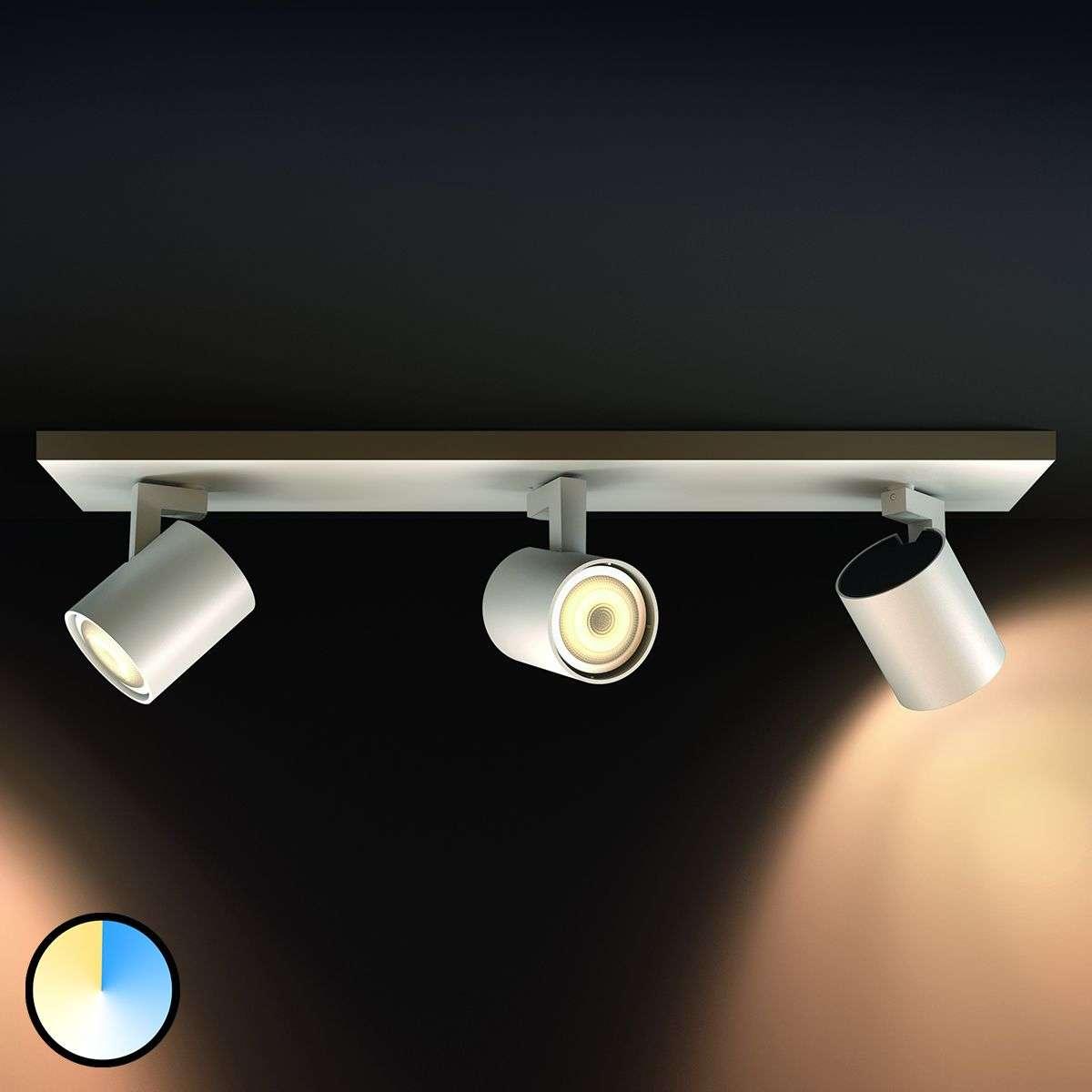 Philips hue led ceiling spotlight runner lights philips hue led ceiling spotlight runner 7531893 31 aloadofball Images