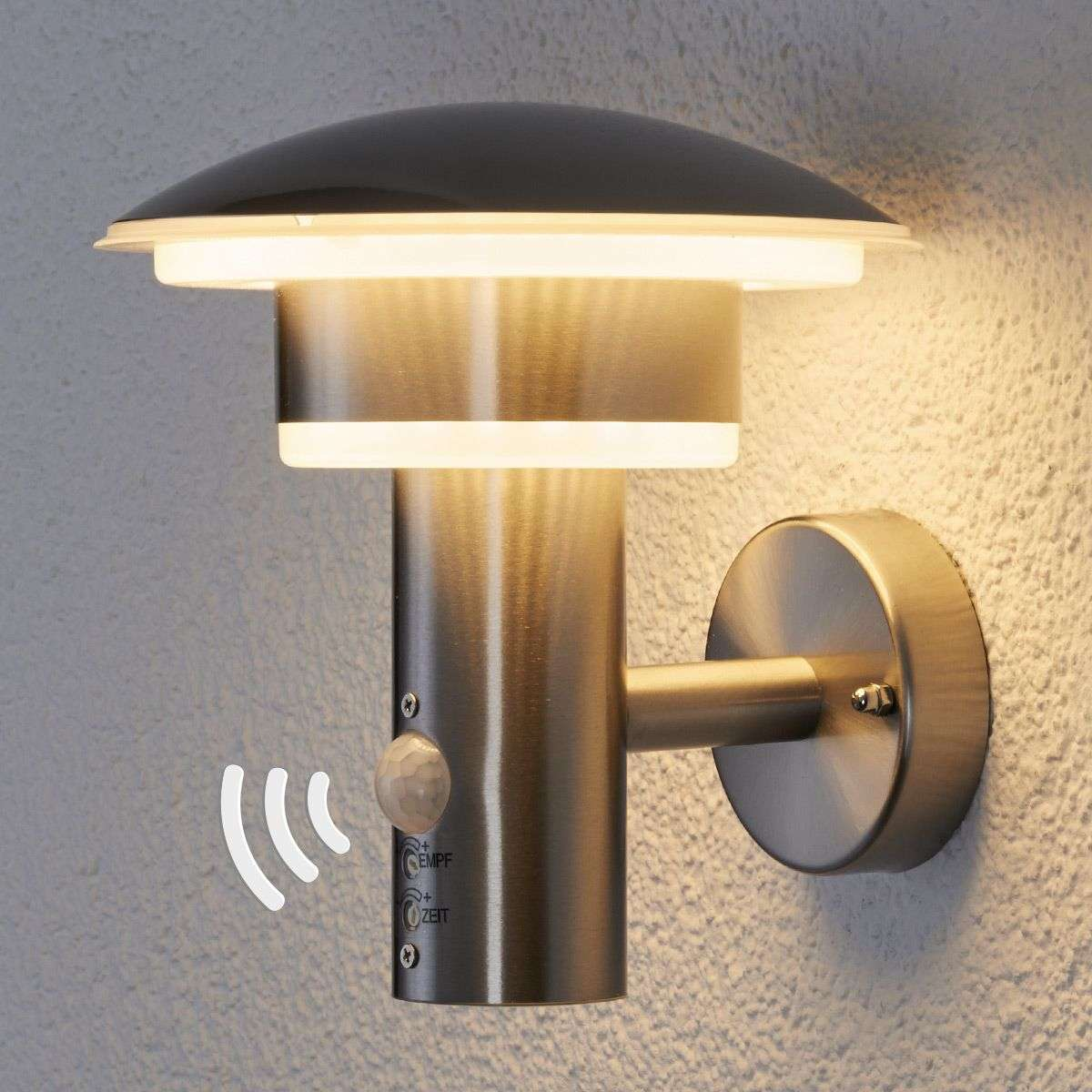 Pir outdoor wall light lillie with leds lights pir outdoor wall light lillie with leds aloadofball Choice Image
