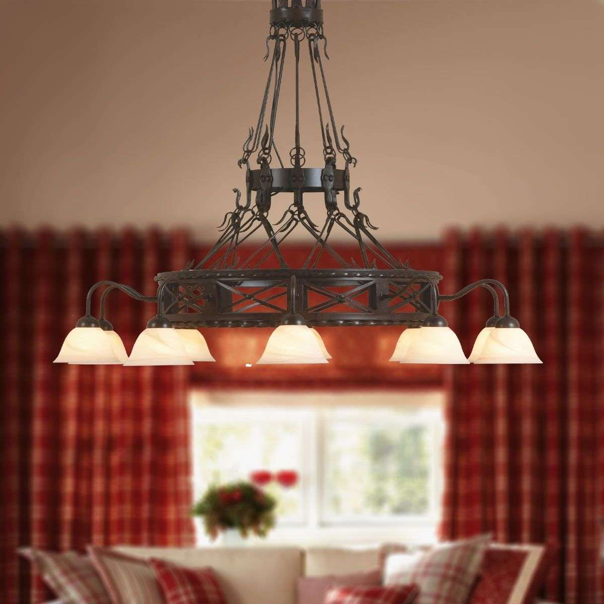 Pusta handmade chandelier ten bulb lights pusta handmade chandelier ten bulb 6528161 31 aloadofball Gallery