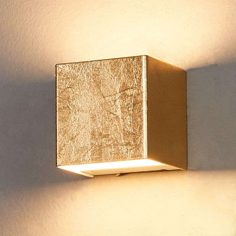 Quentin gold coloured led wall light lights quentin gold coloured led wall light 9625072 31 aloadofball Gallery