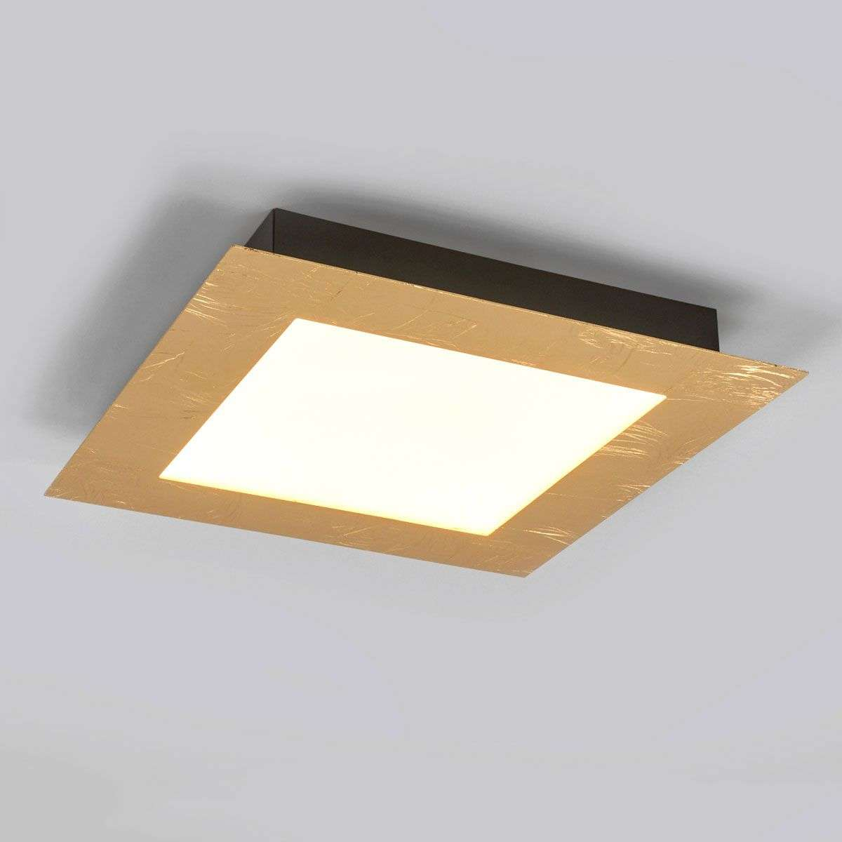 Rectangular led ceiling light deno in gold lights rectangular led ceiling light deno in gold 6722350 31 mozeypictures Image collections
