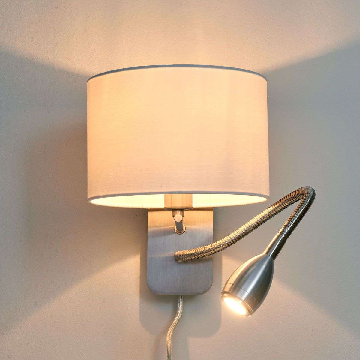 Risa wall light with reading light lights risa wall light with reading light 9004558 31 mozeypictures Gallery