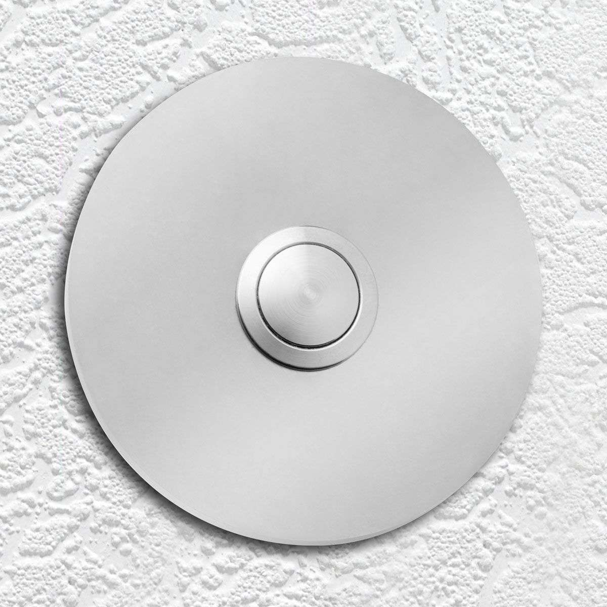 Elegant Round Doorbell Coverplate Made Of Stainless Steel 2011139 31