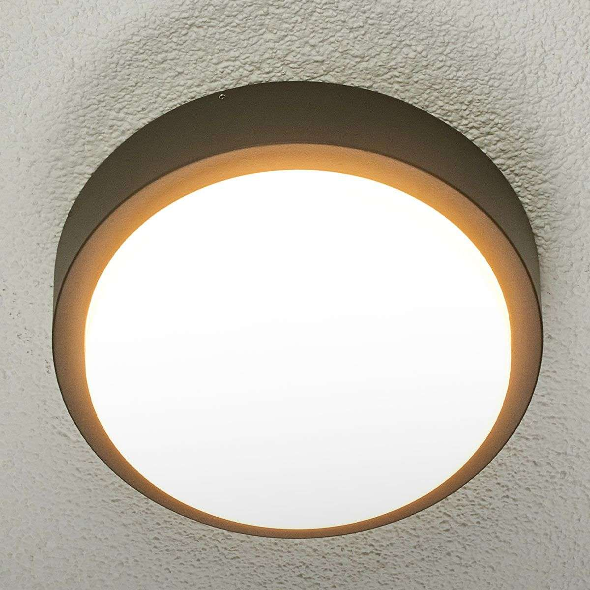 Round Led Outdoor Wall Light Maxine 9955002 32