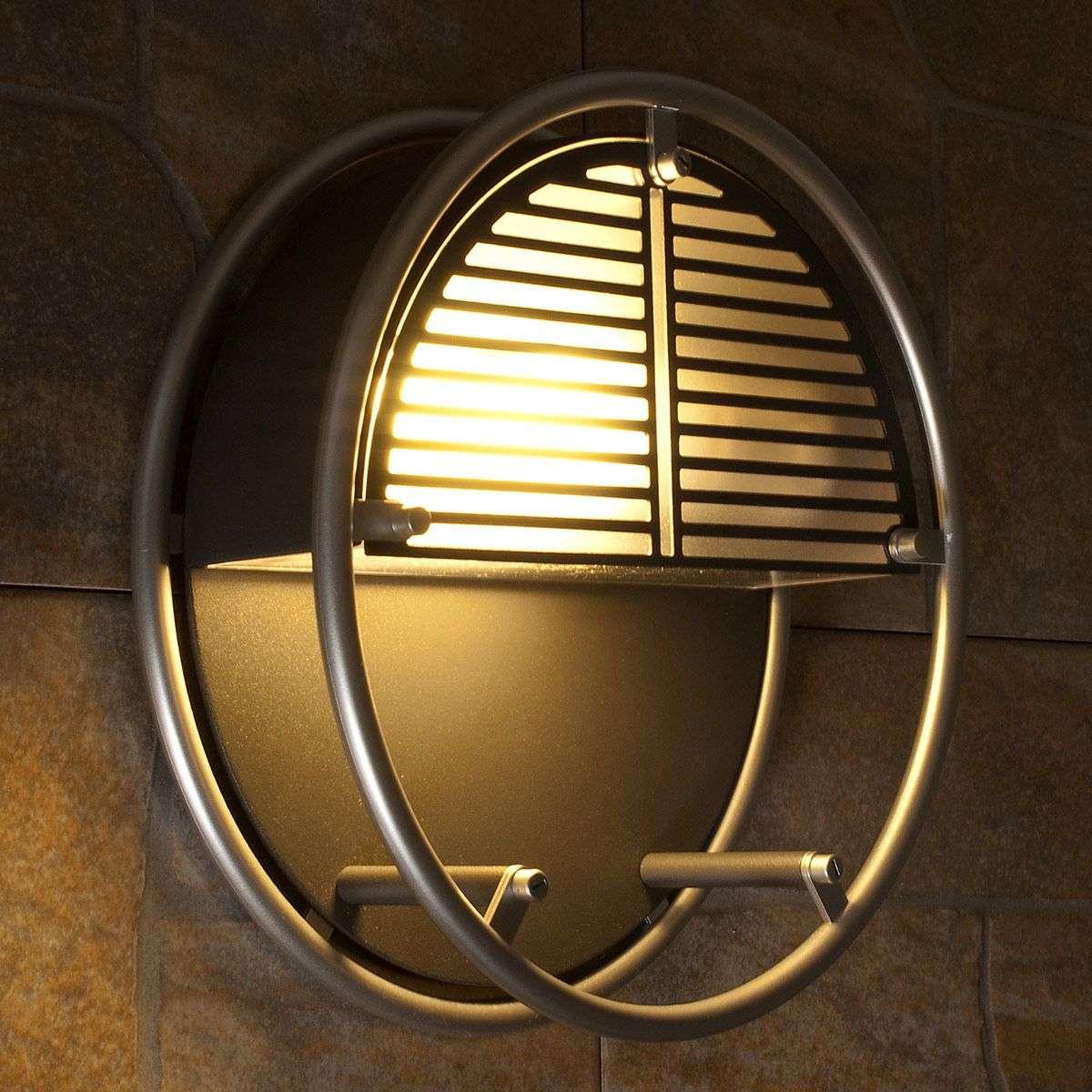 Round Outdoor Wall Light Designs