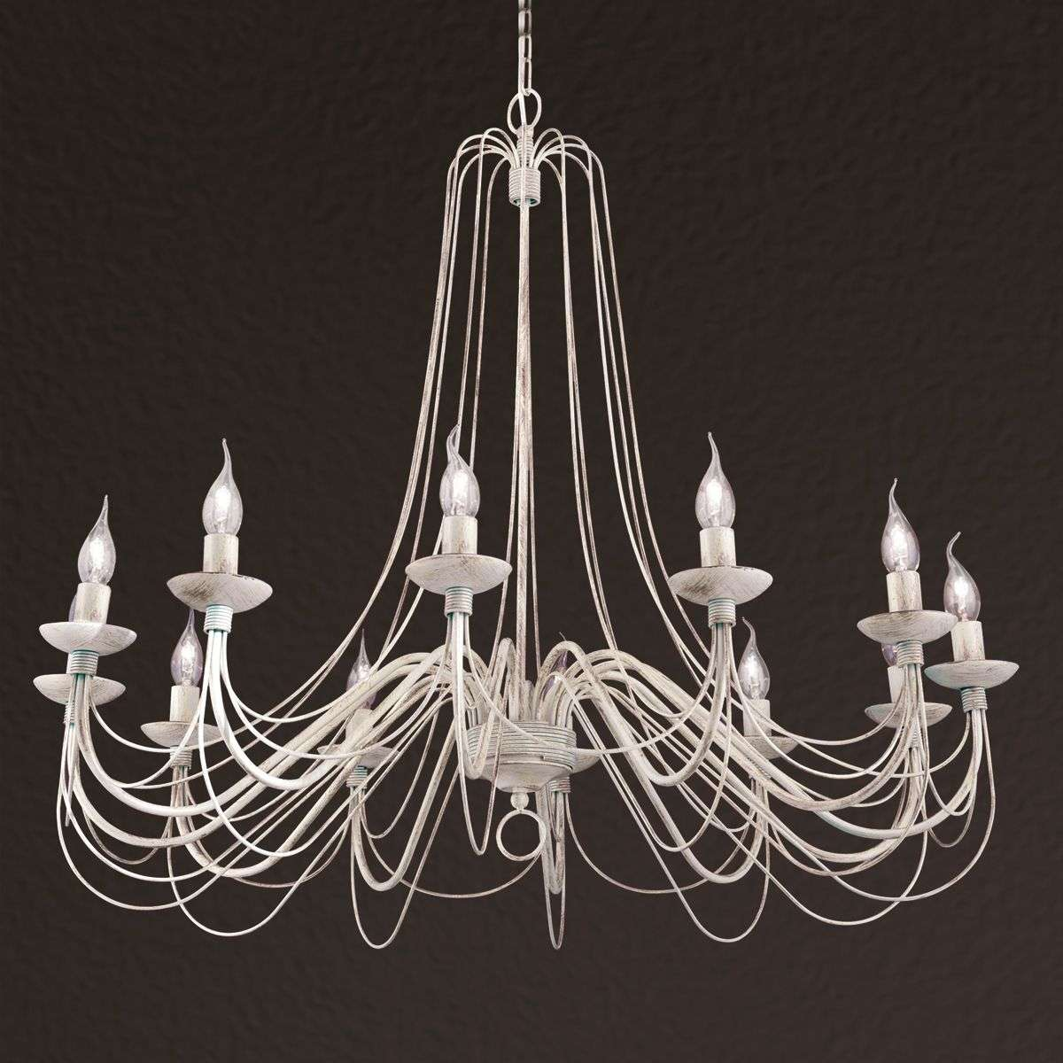 Rustic Country Style Chandelier Antonina 12 Light 7255076 31
