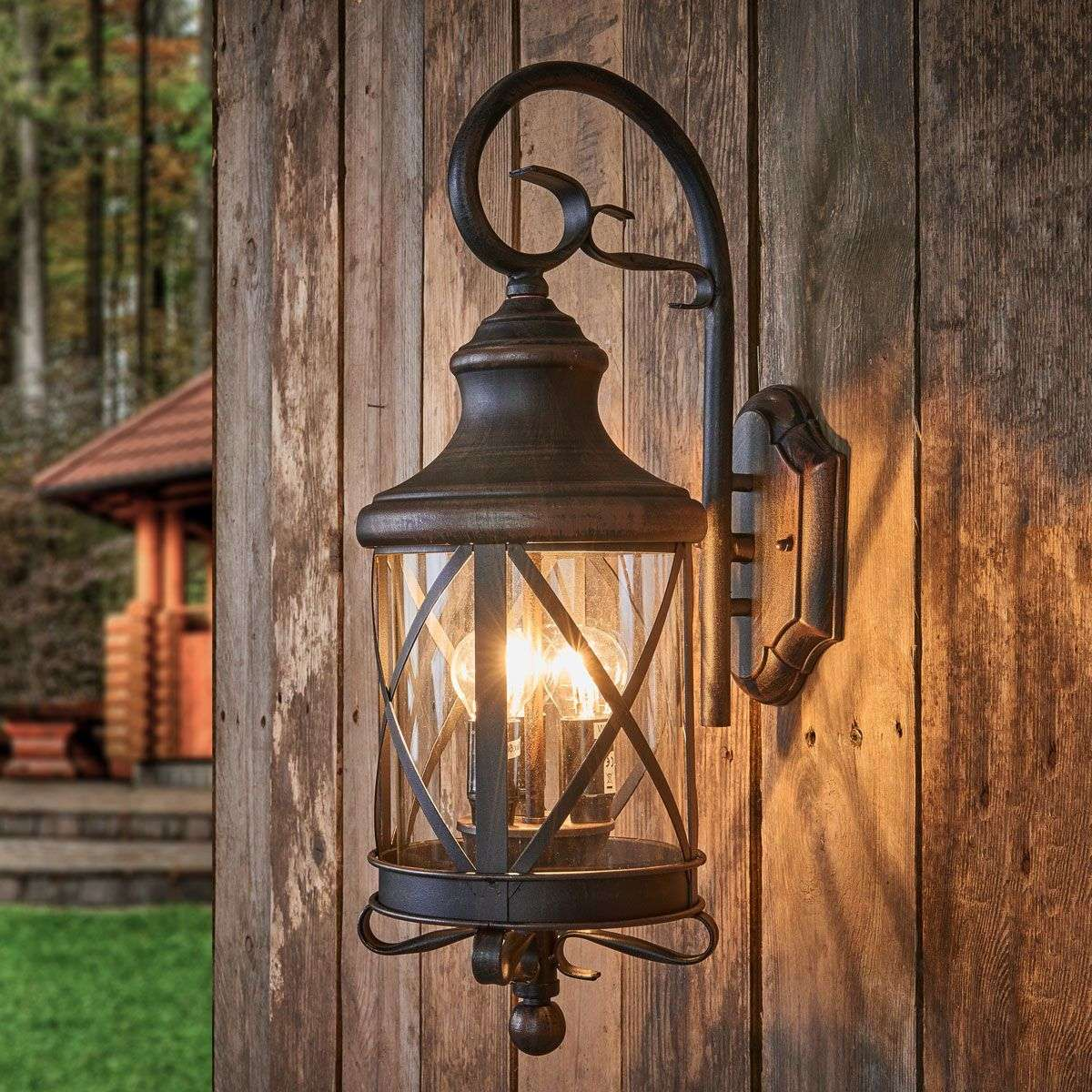 rustic interior lighting. Rustic Outdoor Wall Light Romantica-5515074-31 Interior Lighting T