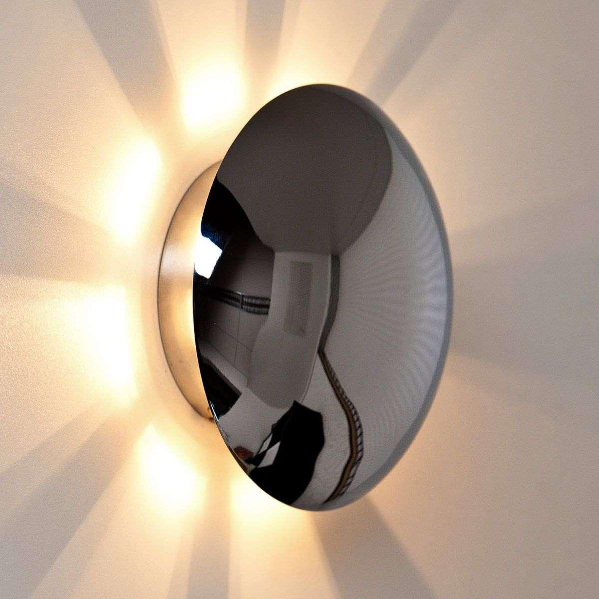 wall lighting effects. Special Wall Light Sunsett Chrome-1508375-37 Lighting Effects