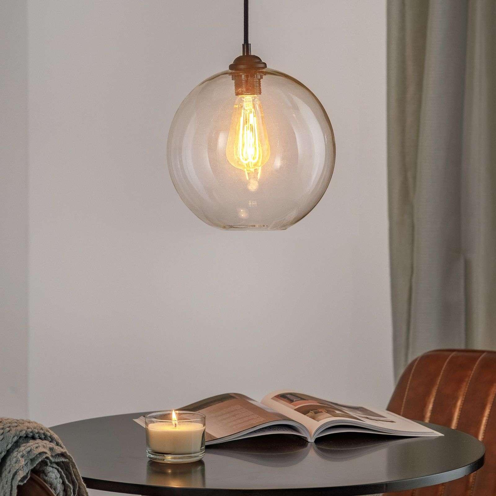 Spherical clara pendant light transparent lights spherical clara pendant light transparent 3507192 31 arubaitofo Images