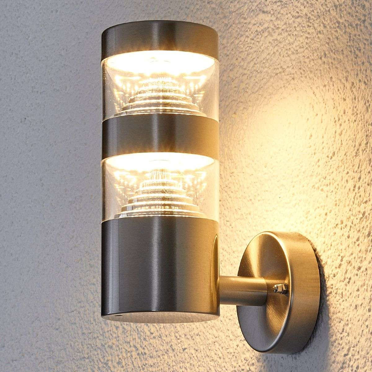 Stainless steel led outdoor wall light lanea lights stainless steel led outdoor wall light lanea 9988005 31 aloadofball Image collections