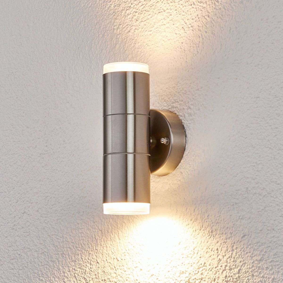 Stainless steel outdoor wall light delina lights stainless steel outdoor wall light delina 9977009 32 aloadofball Image collections