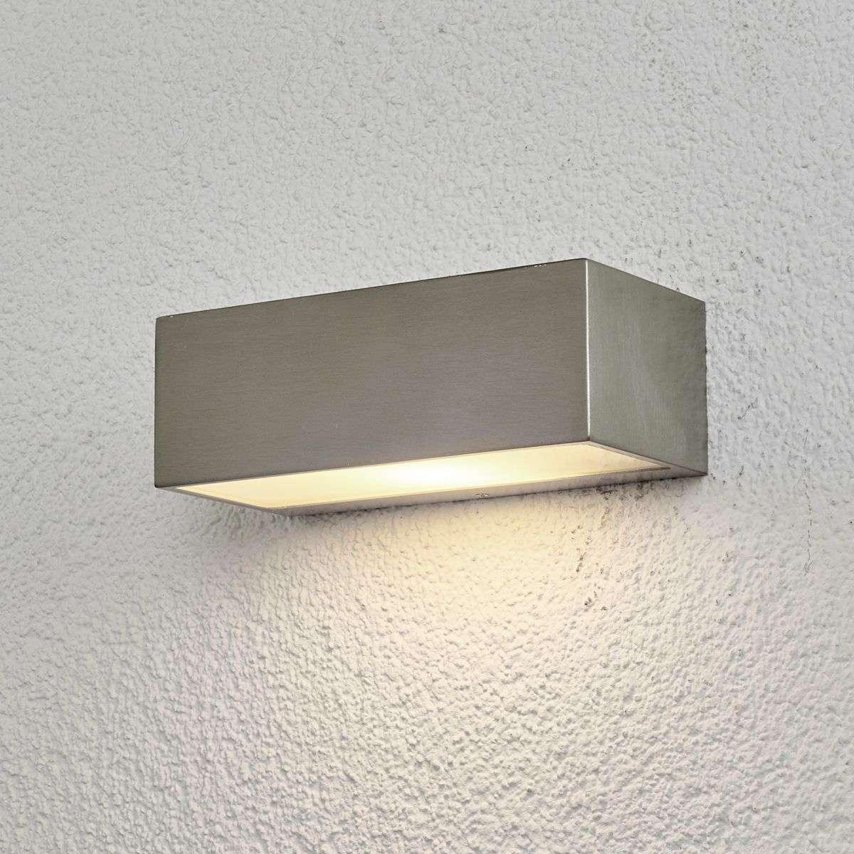 amazon wall stainless steel sensor saxby with light dp uk outdoor inova lighting co lights