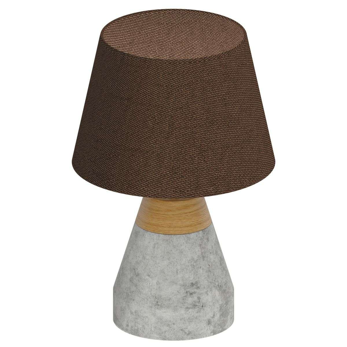 Stylish tarega fabric table lamp concrete base lights stylish tarega fabric table lamp concrete base 3031819 31 mozeypictures Choice Image