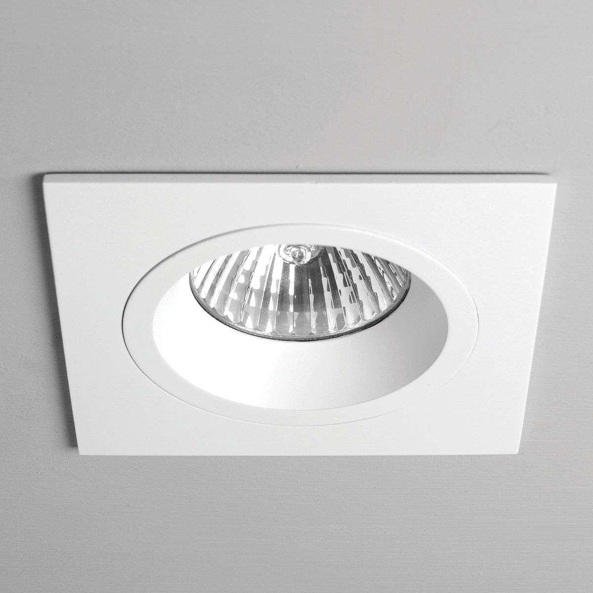 Taro Built-In Ceiling Spotlight Square Rigid White-1020358-32