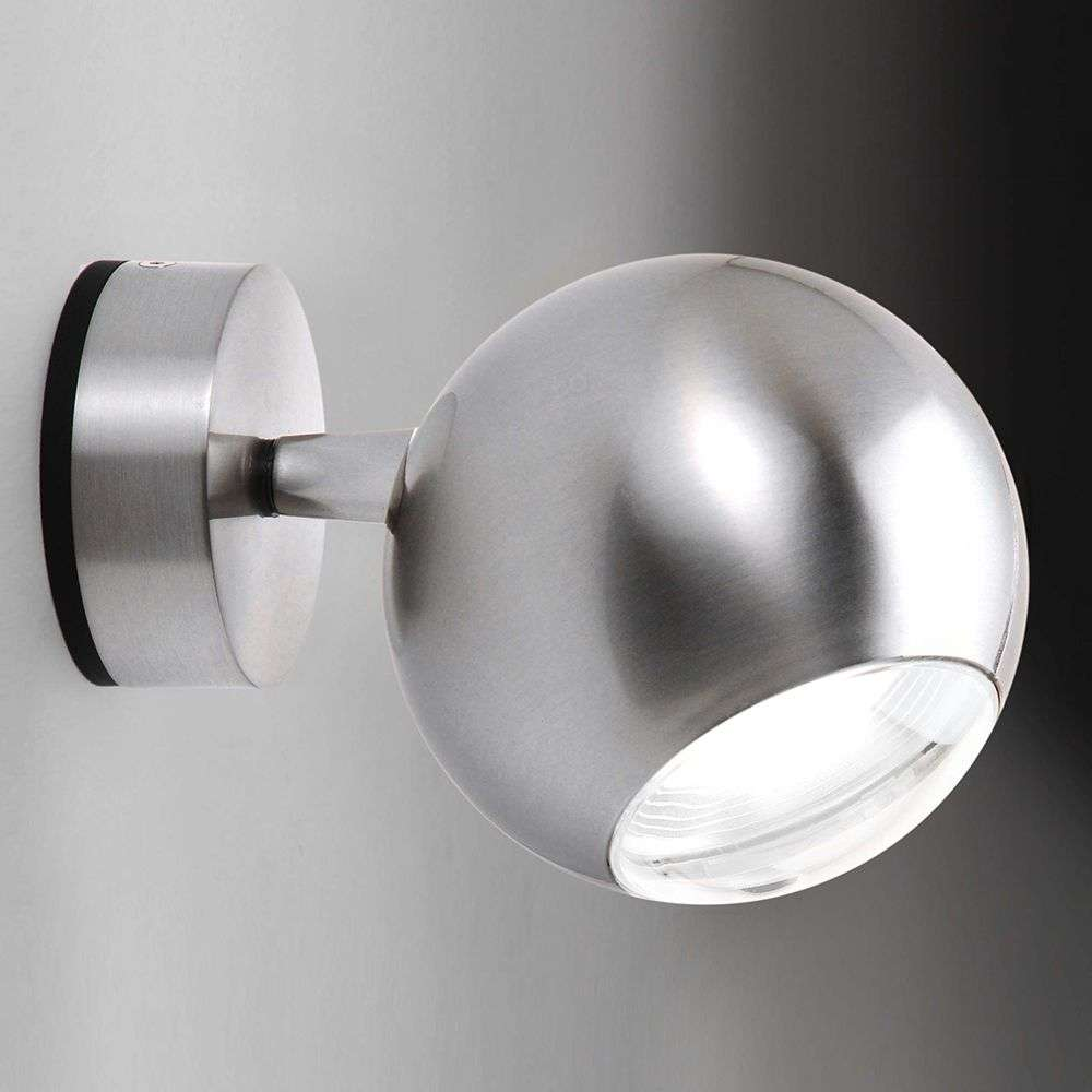 Unusual led wall light bo la in nickel lights unusual led wall light bo la in nickel 6708159 31 aloadofball Images