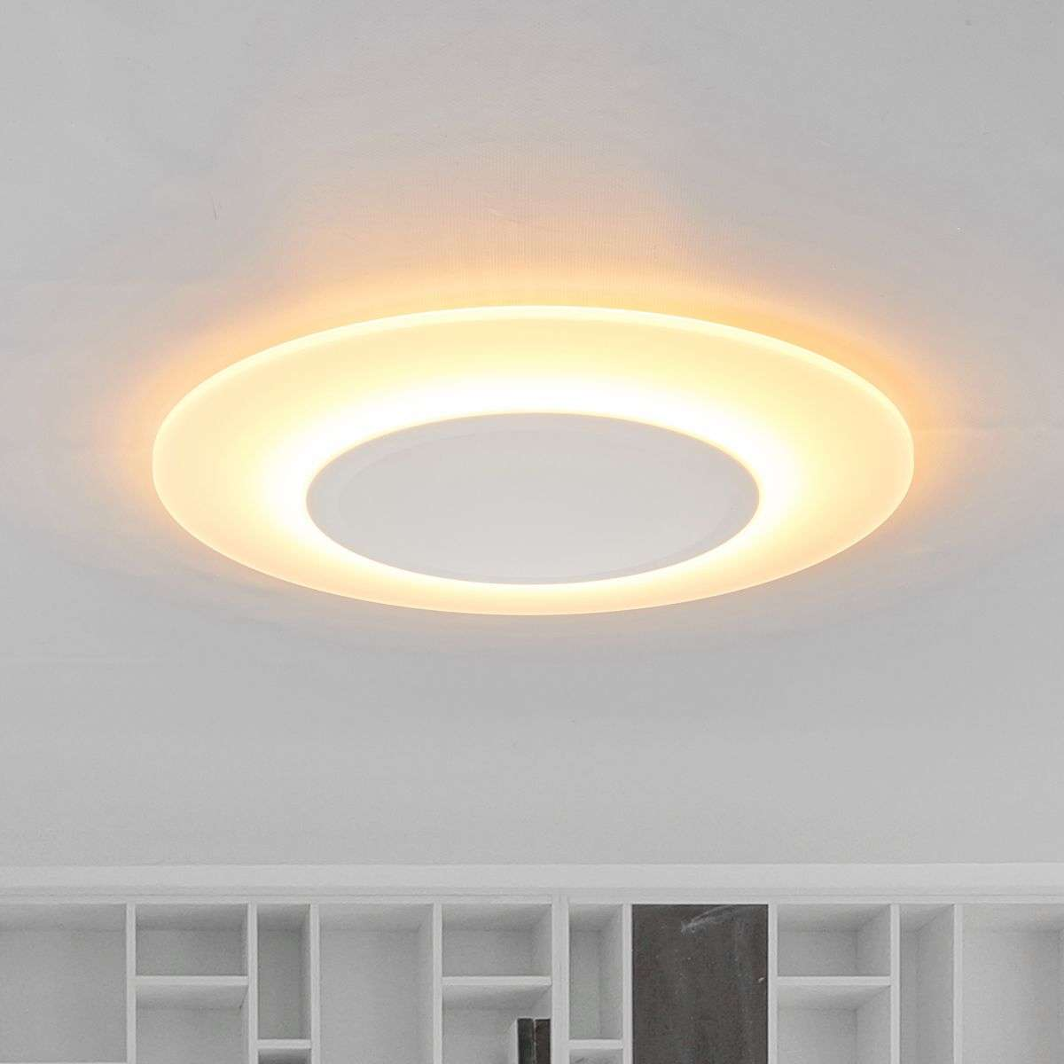 Very flat ceiling light led flat 1 200 lumens 7261139 31g very flat ceiling light led flat 1200 lumens aloadofball