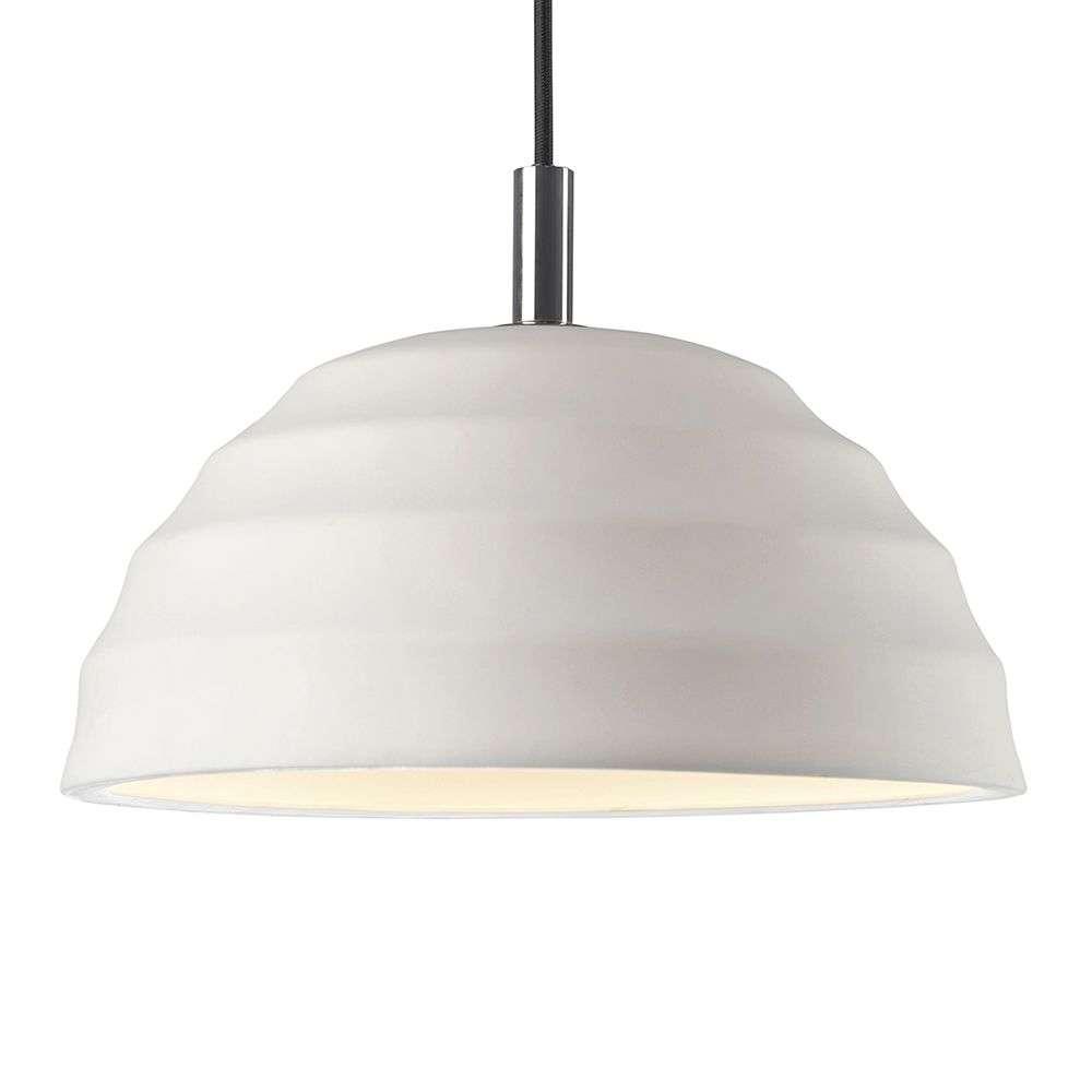 White Ceramic Pendant Light Valencia 8507600 31