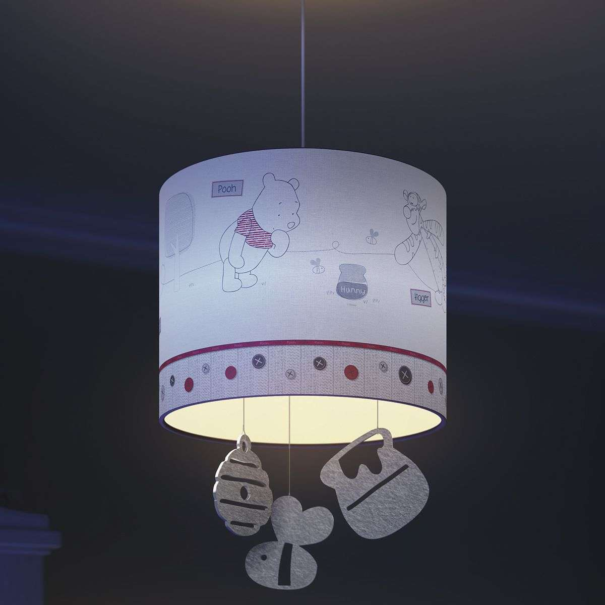 Winnie the pooh pendant light for children lights winnie the pooh pendant light for children 7531526 31 aloadofball Image collections