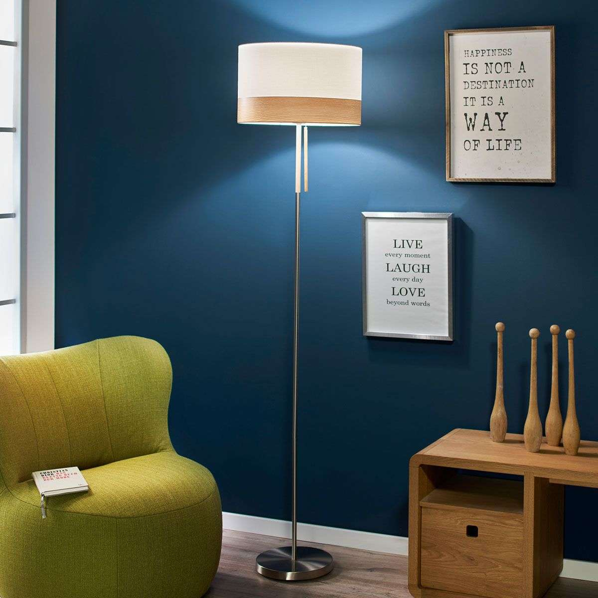 With pull switch floor lamp libba cream wood lights with pull switch floor lamp libba cream and wood 4014842 31 aloadofball Choice Image