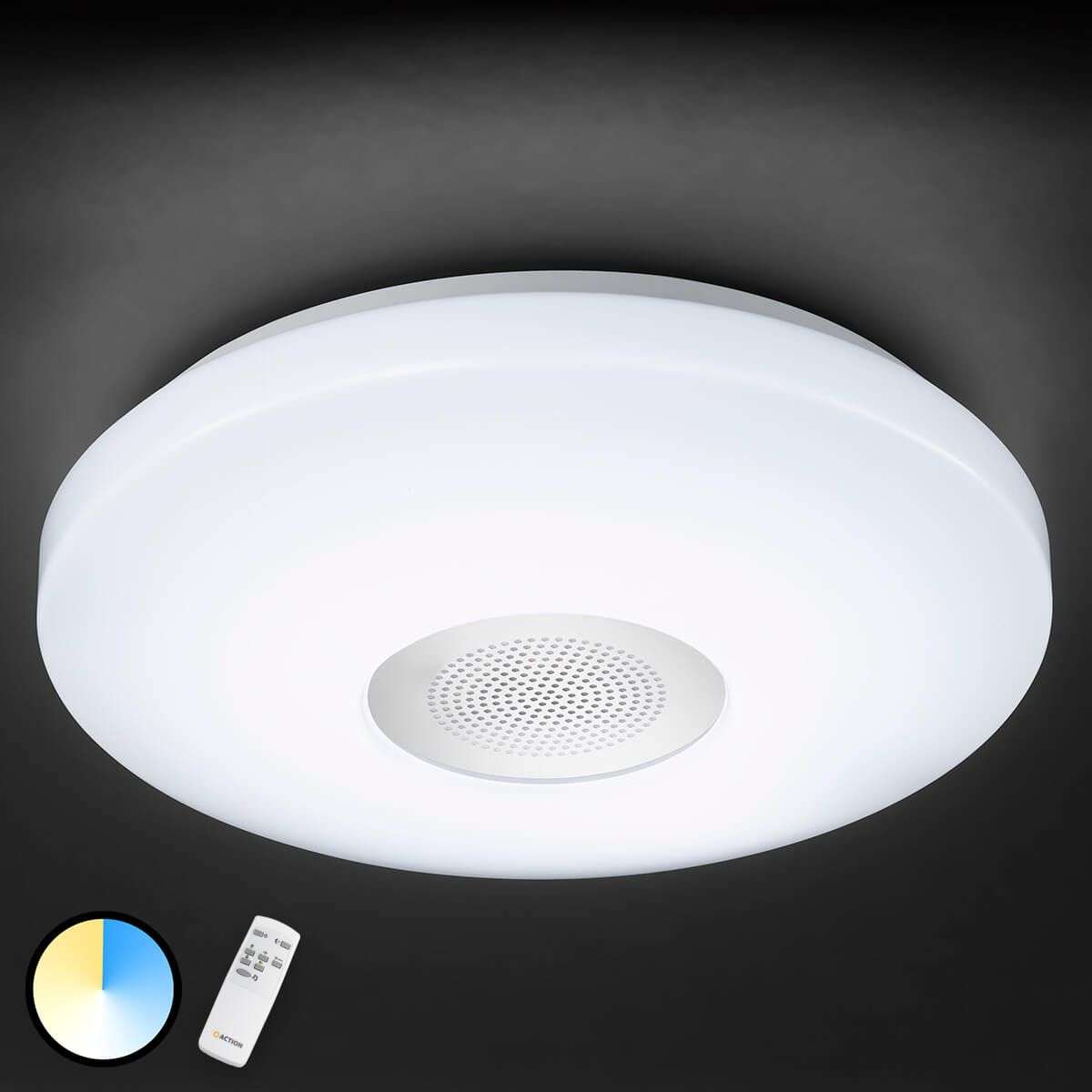 Zon ceiling light with bluetooth speaker for Led light bulb with built in bluetooth speaker